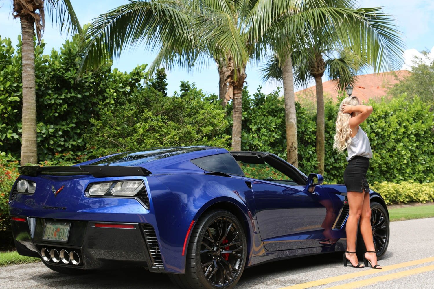 Used 2016 Chevrolet Z06 Corvette Z06 for sale Sold at Muscle Cars for Sale Inc. in Fort Myers FL 33912 7