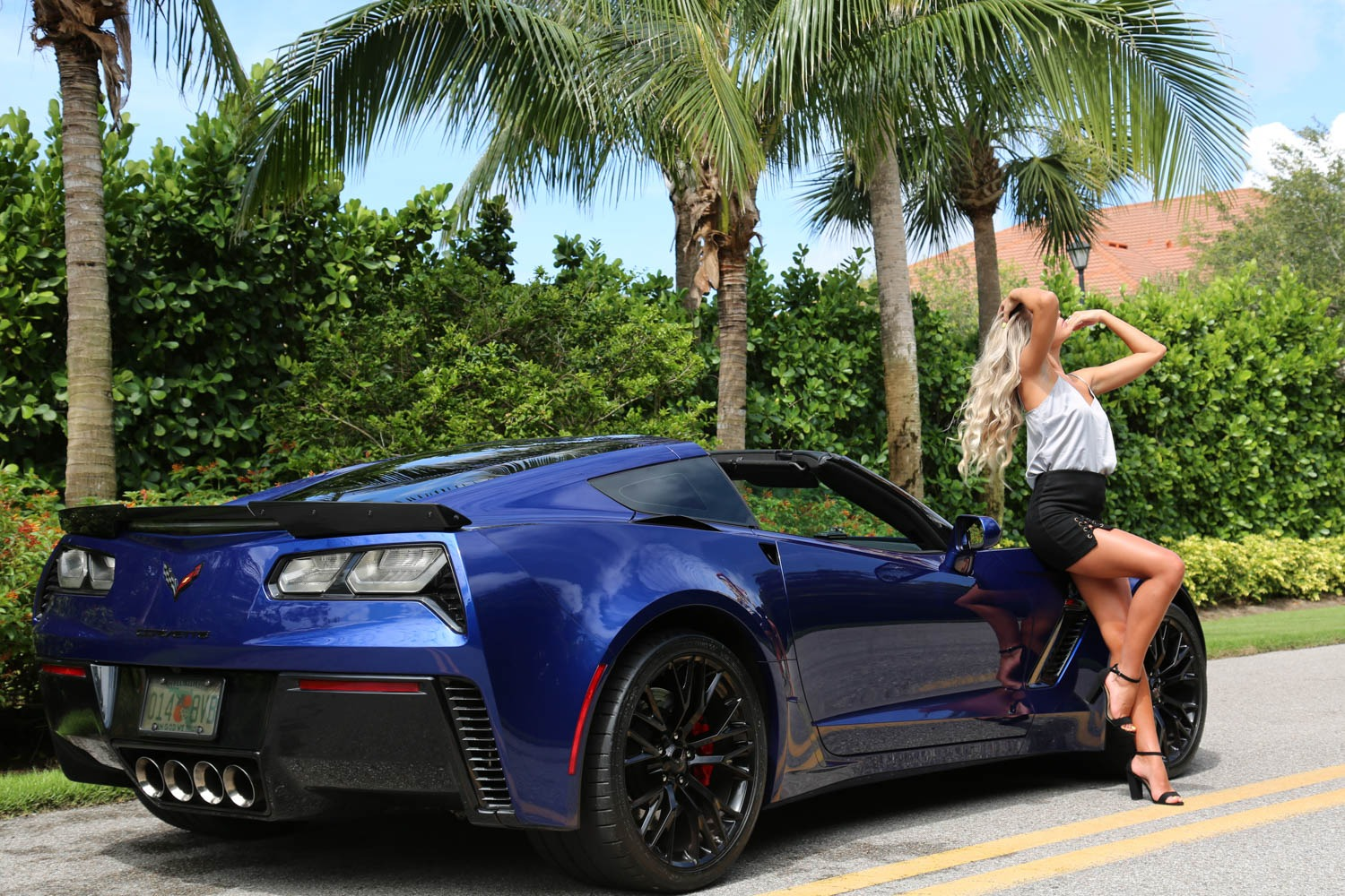 Used 2016 Chevrolet Z06 Corvette Z06 for sale Sold at Muscle Cars for Sale Inc. in Fort Myers FL 33912 8