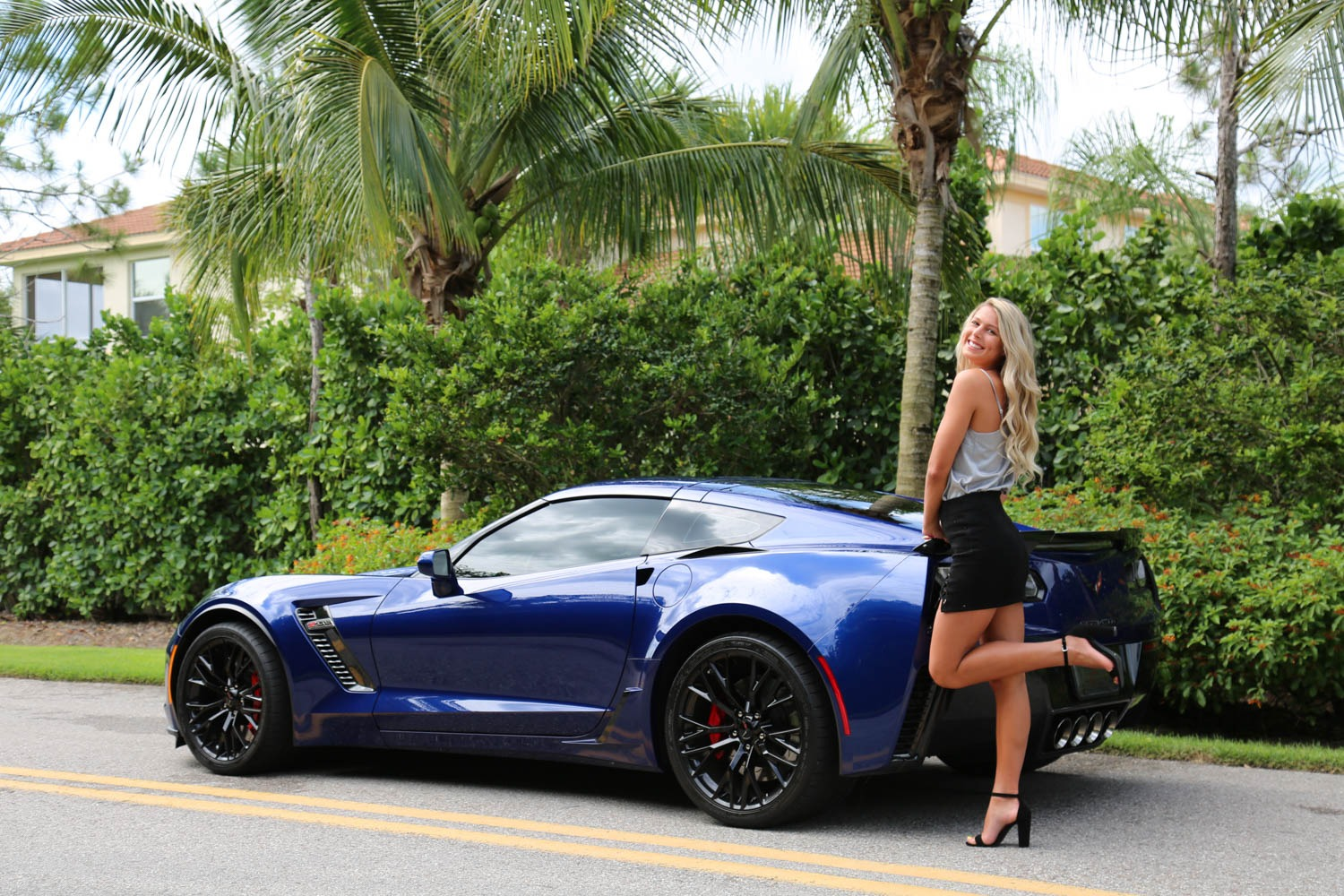 Used 2016 Chevrolet Z06 Corvette Z06 for sale Sold at Muscle Cars for Sale Inc. in Fort Myers FL 33912 1