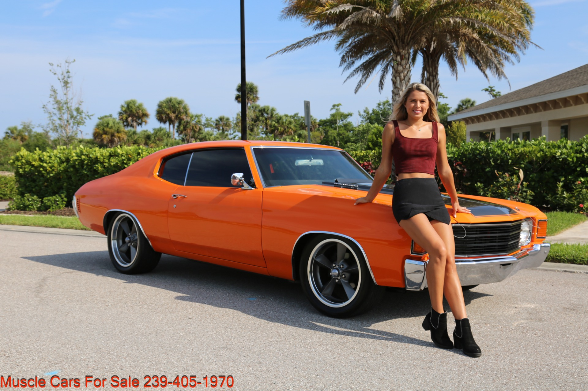 Used 1972 Chevy Chevelle LS 6 speed Cp for sale Sold at Muscle Cars for Sale Inc. in Fort Myers FL 33912 2