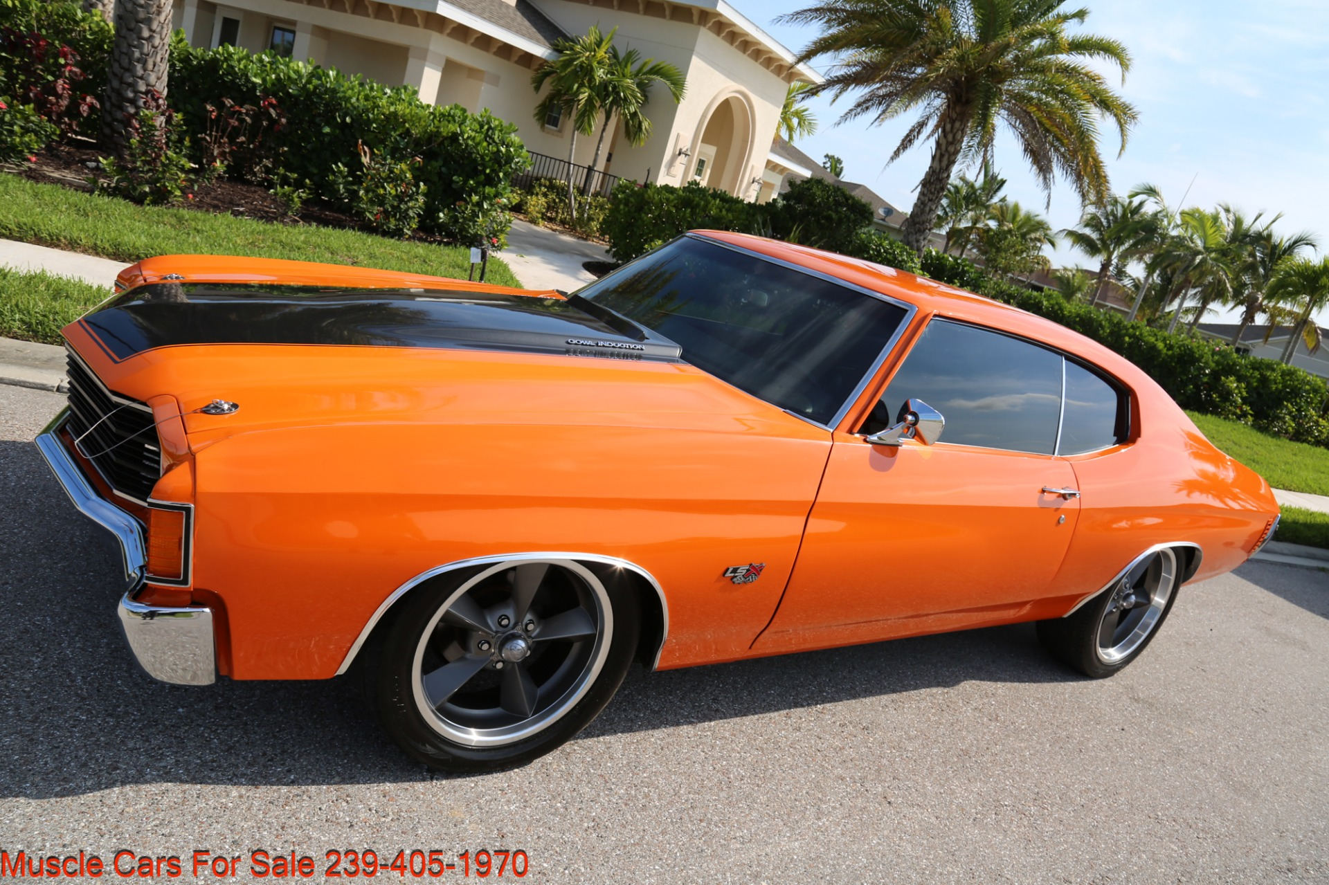 Used 1972 Chevy Chevelle LS 6 speed Cp for sale Sold at Muscle Cars for Sale Inc. in Fort Myers FL 33912 4