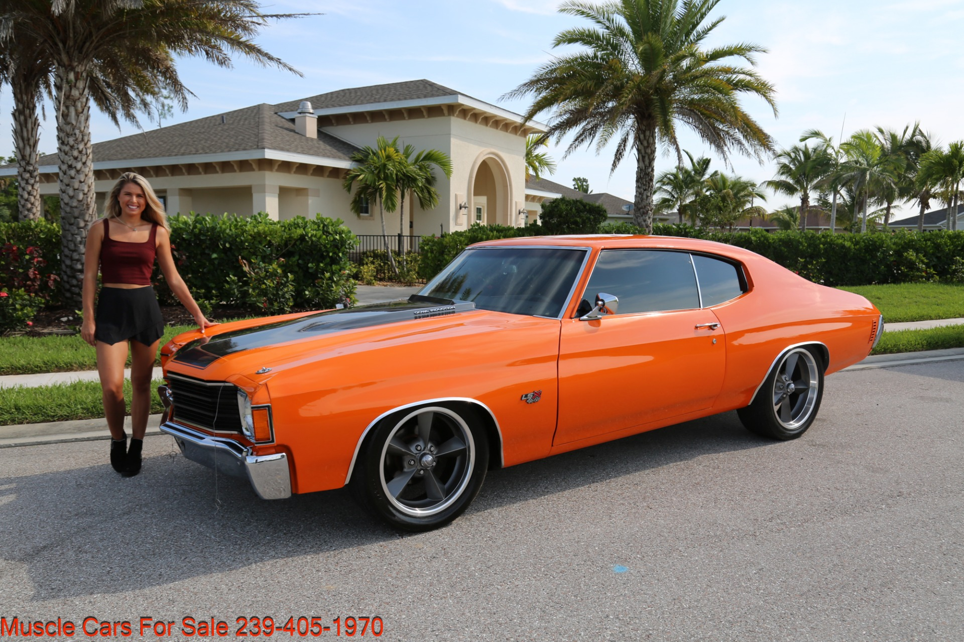 Used 1972 Chevy Chevelle LS 6 speed Cp for sale Sold at Muscle Cars for Sale Inc. in Fort Myers FL 33912 7