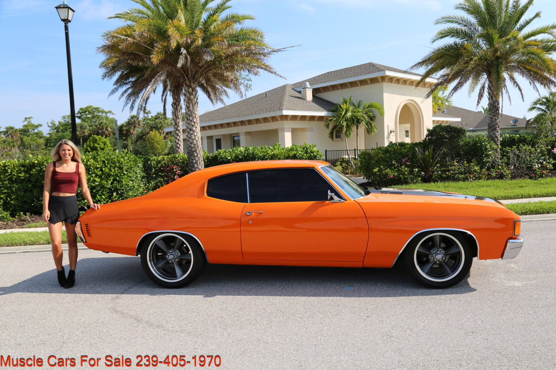 Used 1972 Chevy Chevelle LS 6 speed Cp for sale Sold at Muscle Cars for Sale Inc. in Fort Myers FL 33912 8