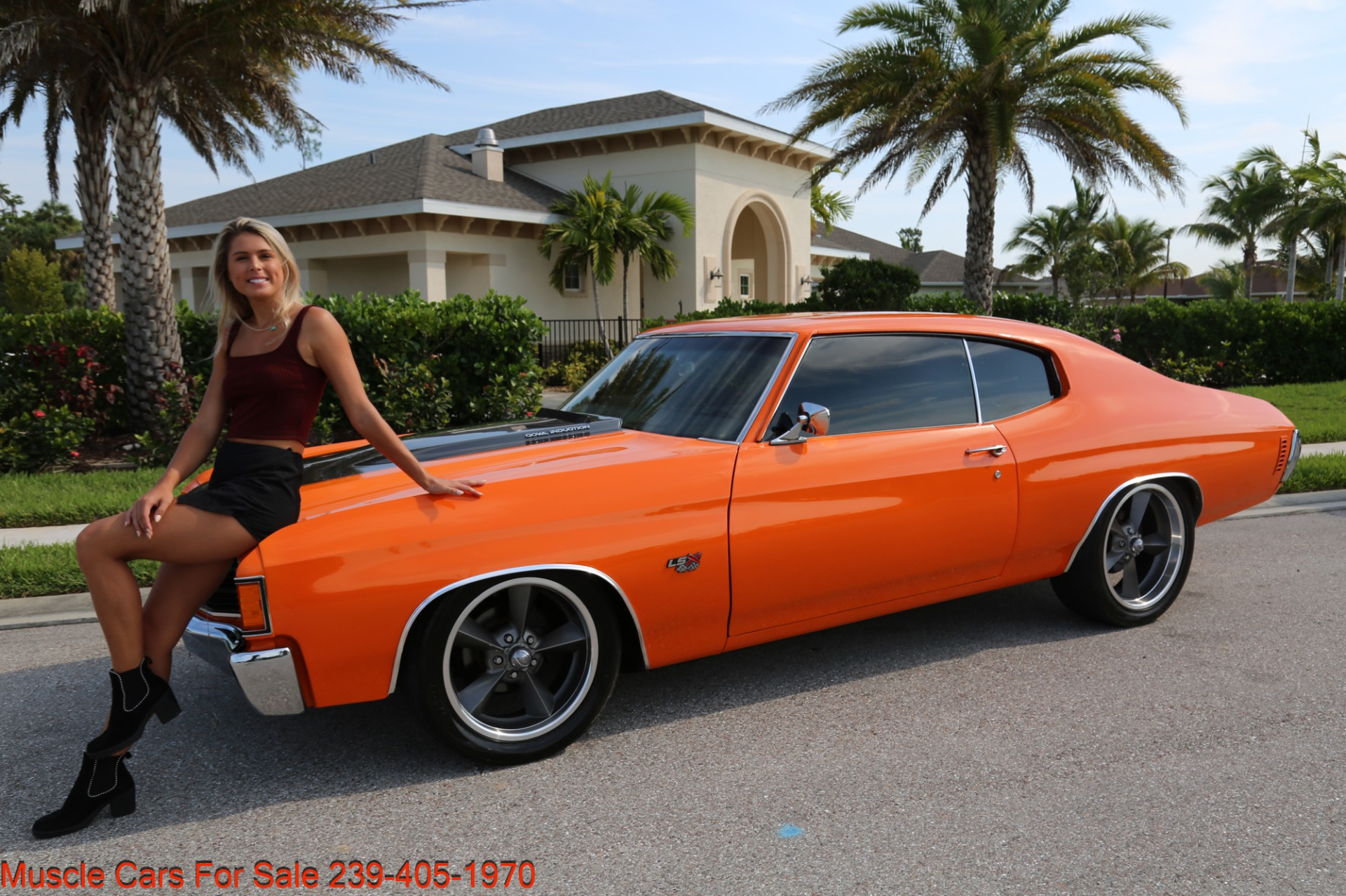 Used 1972 Chevy Chevelle LS 6 speed Cp for sale Sold at Muscle Cars for Sale Inc. in Fort Myers FL 33912 1