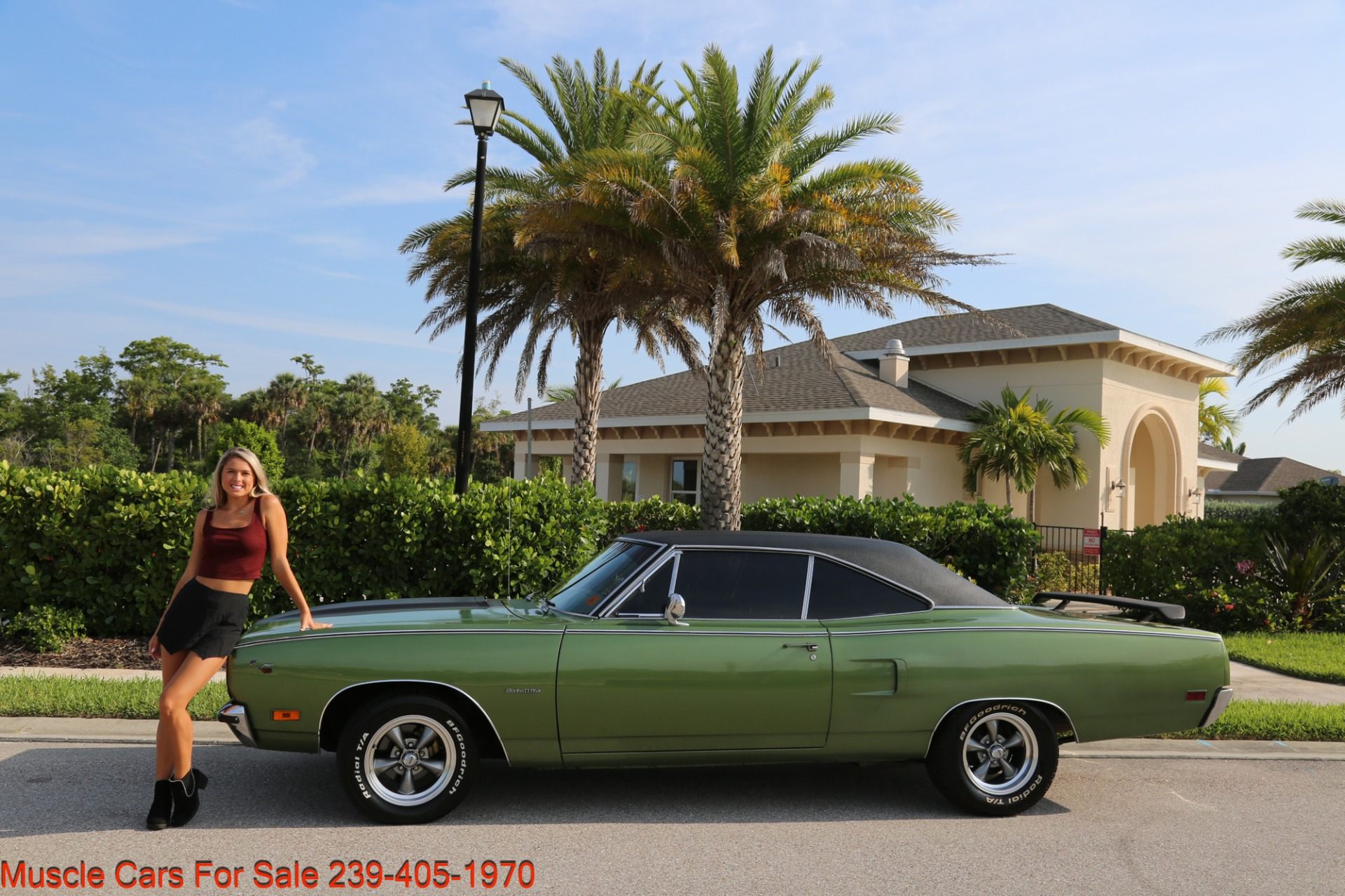 Used 1970 Plymouth Satellite Road Runner Satalite for sale $29,900 at Muscle Cars for Sale Inc. in Fort Myers FL 33912 3