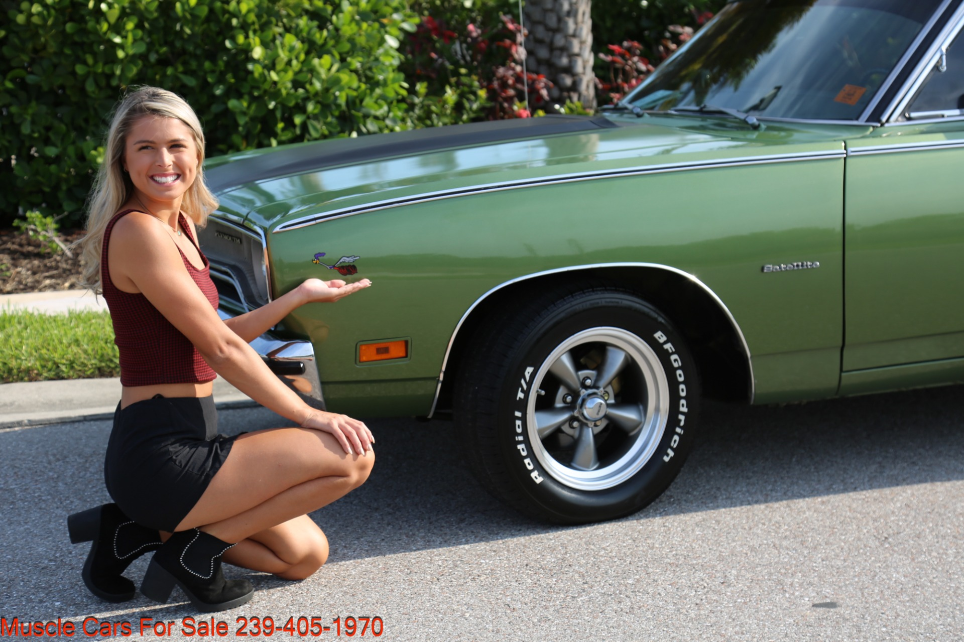 Used 1970 Plymouth Satellite Road Runner Satalite for sale $29,900 at Muscle Cars for Sale Inc. in Fort Myers FL 33912 5