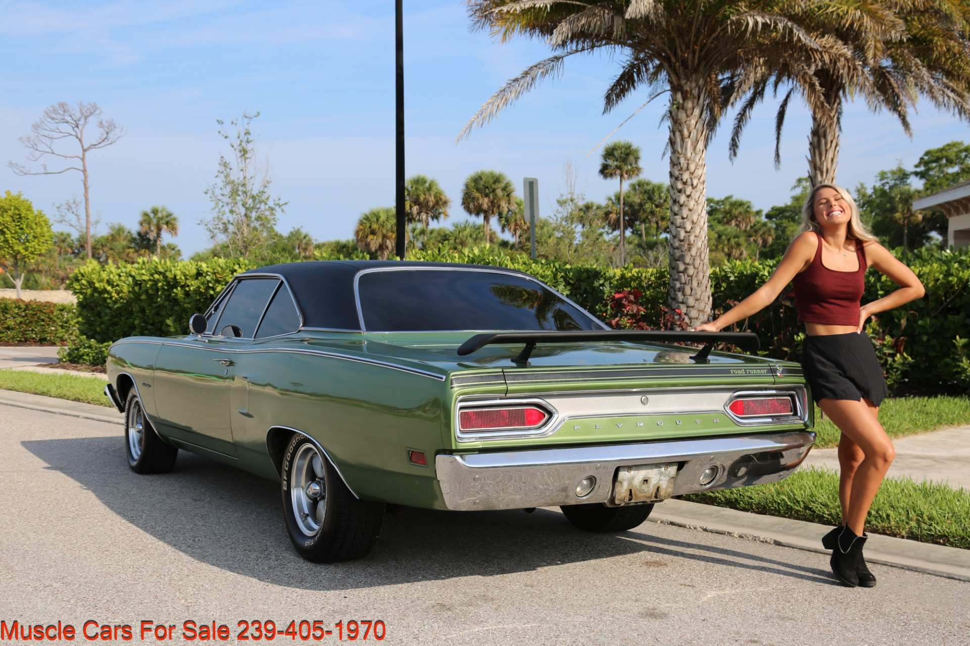 Used 1970 Plymouth Satellite Road Runner Satalite for sale $29,900 at Muscle Cars for Sale Inc. in Fort Myers FL 33912 6