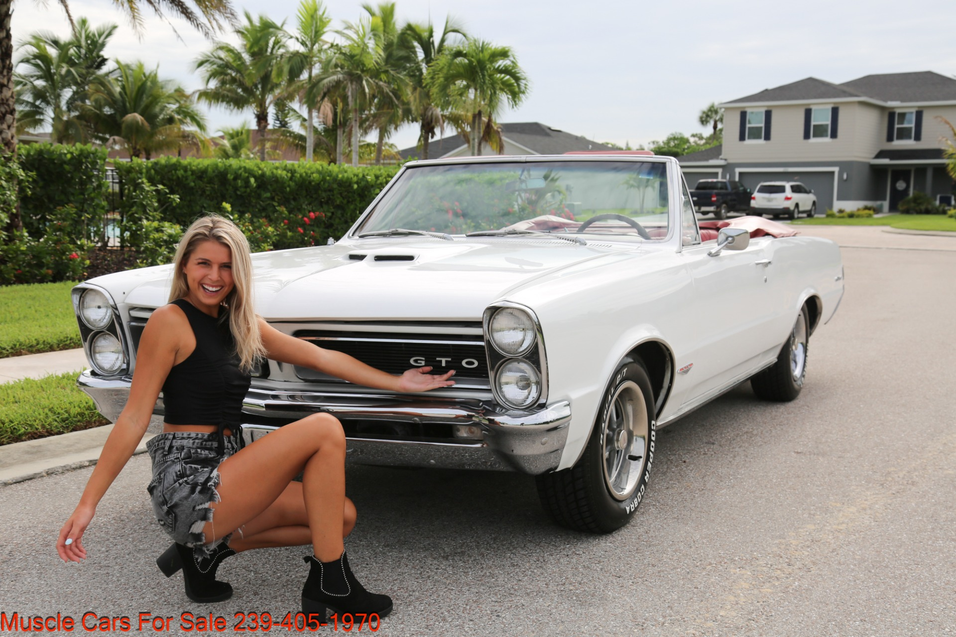Used 1965 Pontiac Lemans GTO Convertible Convertible for sale $34,500 at Muscle Cars for Sale Inc. in Fort Myers FL 33912 2