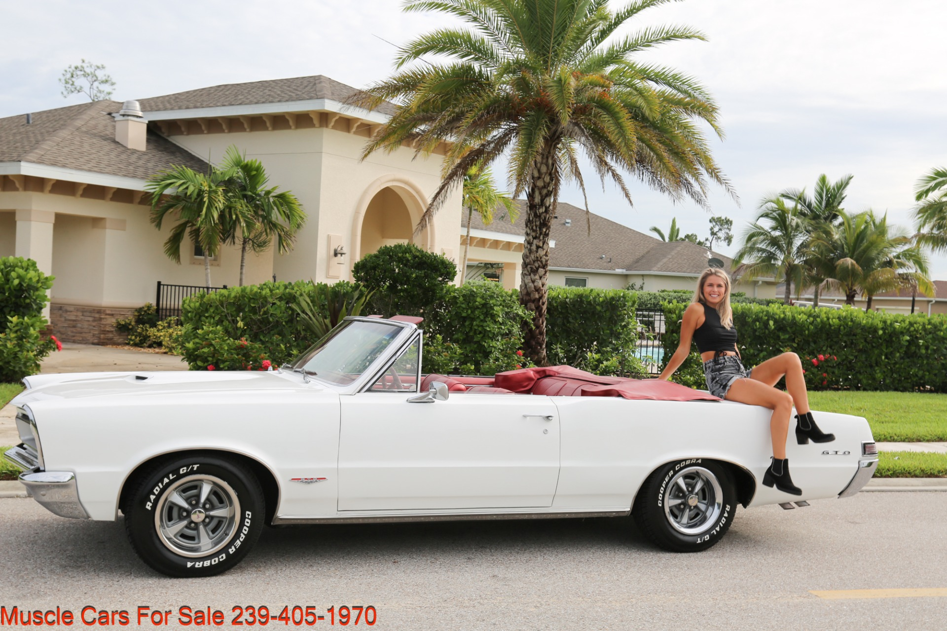 Used 1965 Pontiac Lemans GTO Convertible Convertible for sale $34,500 at Muscle Cars for Sale Inc. in Fort Myers FL 33912 4
