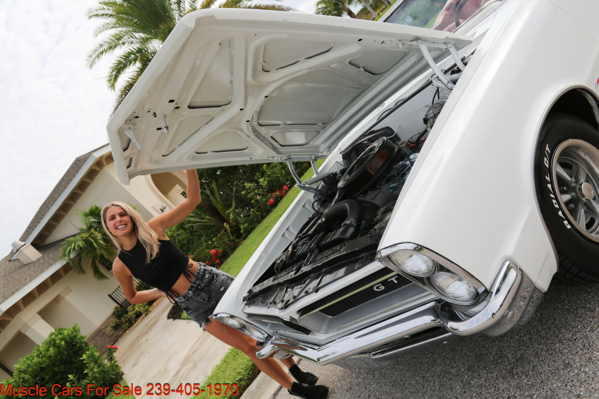 Used 1965 Pontiac Lemans GTO Convertible Convertible for sale $34,500 at Muscle Cars for Sale Inc. in Fort Myers FL 33912 8
