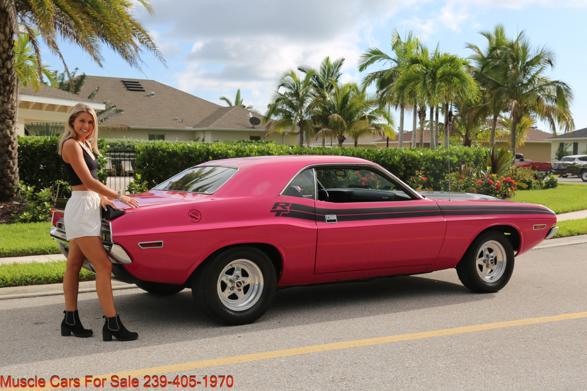 Used 1971 Dodge Challenger 440  Manual for sale $47,500 at Muscle Cars for Sale Inc. in Fort Myers FL 33912 3