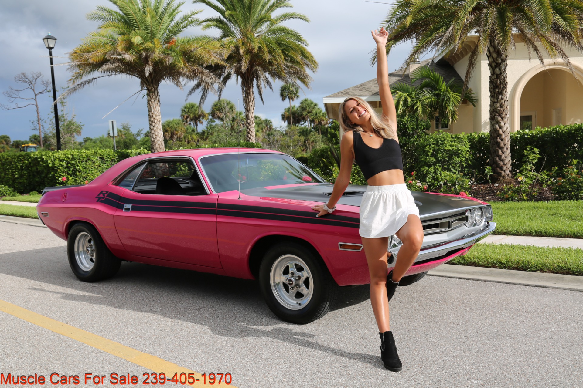 Used 1971 Dodge Challenger 440  Manual for sale $47,500 at Muscle Cars for Sale Inc. in Fort Myers FL 33912 4