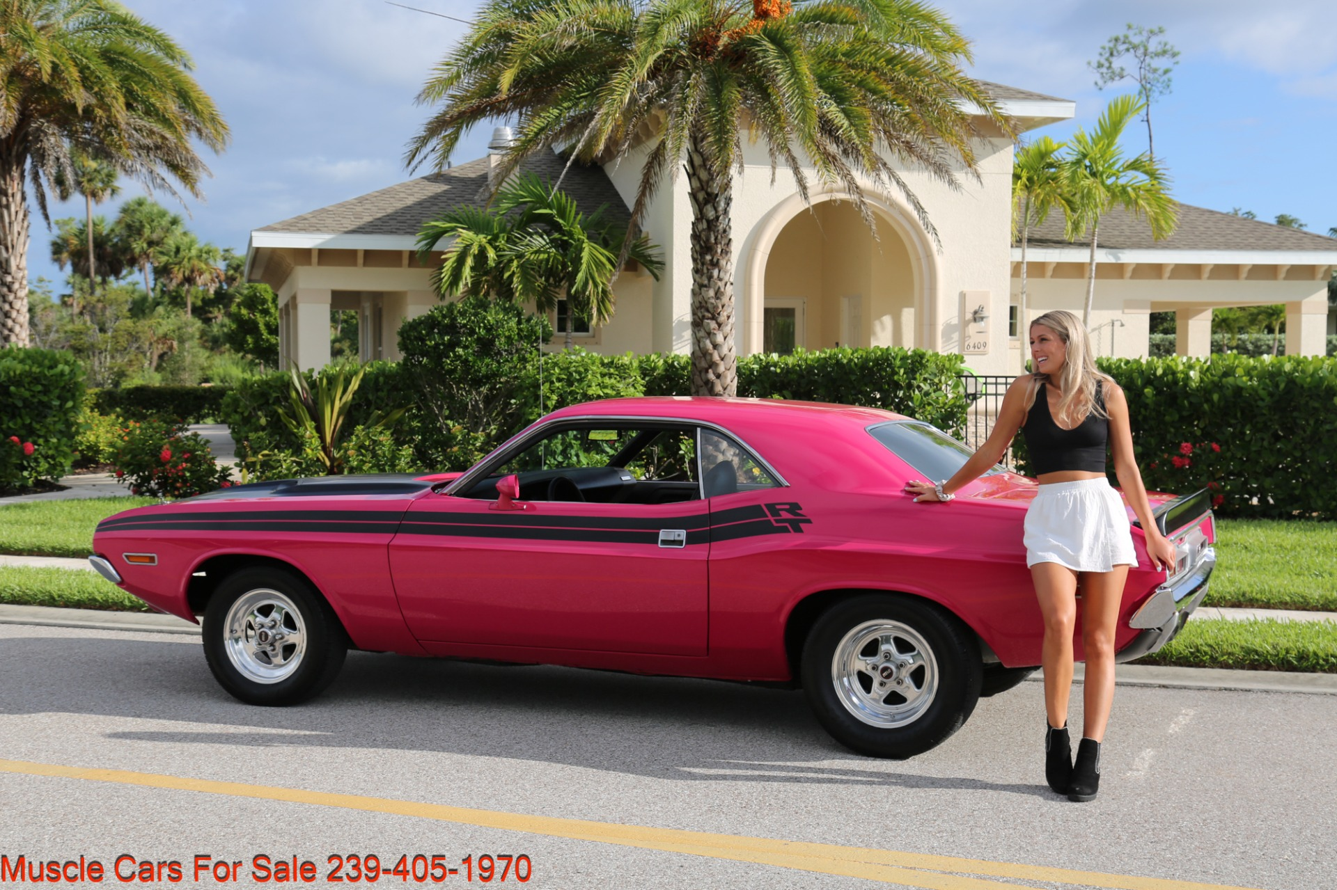 Used 1971 Dodge Challenger 440  Manual for sale $47,500 at Muscle Cars for Sale Inc. in Fort Myers FL 33912 1