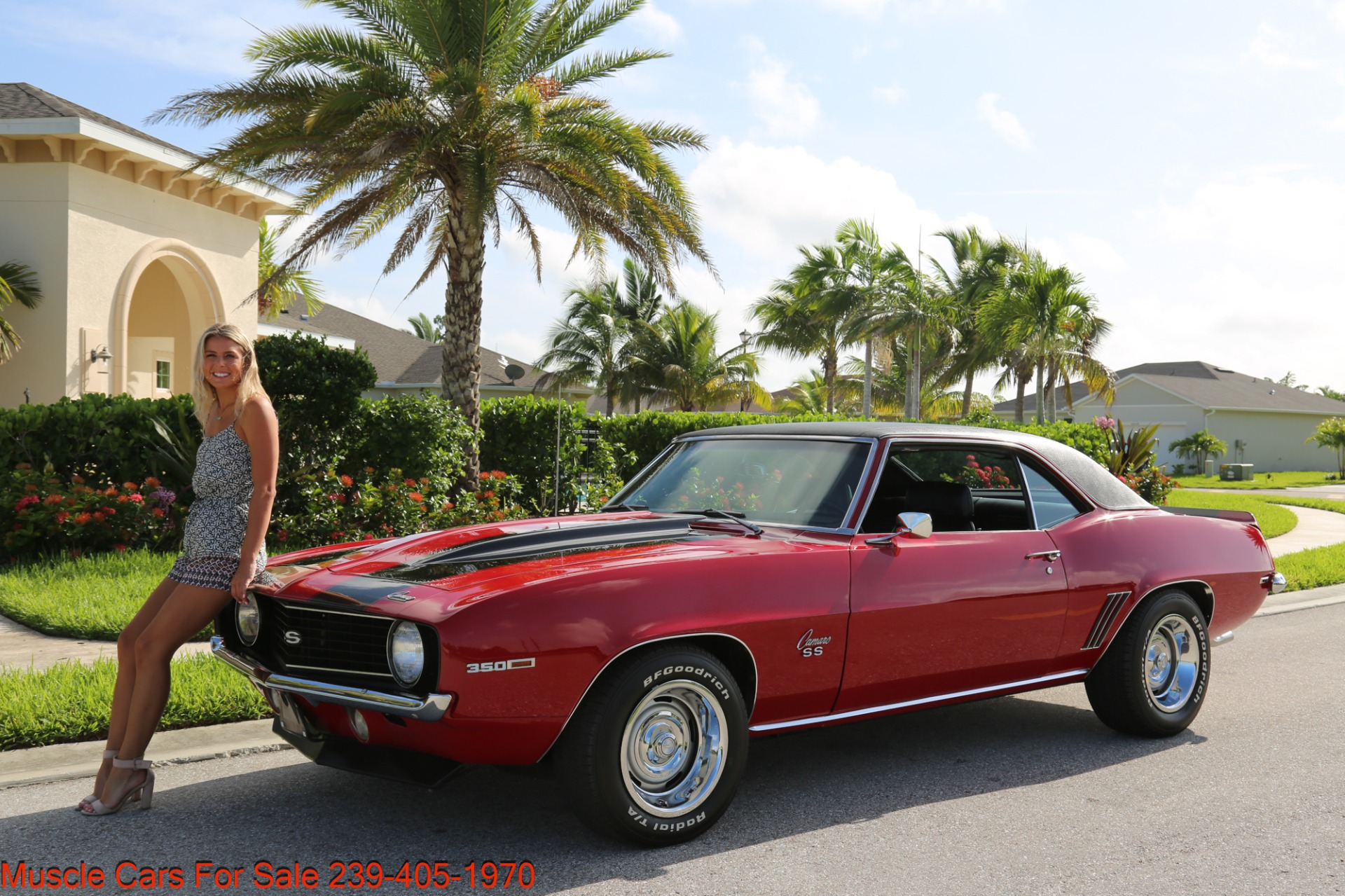 Used 1969 Chevrolet Camaro SS for sale Sold at Muscle Cars for Sale Inc. in Fort Myers FL 33912 2