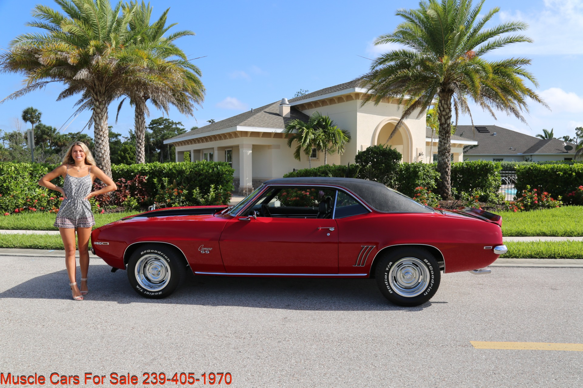 Used 1969 Chevrolet Camaro SS for sale Sold at Muscle Cars for Sale Inc. in Fort Myers FL 33912 6