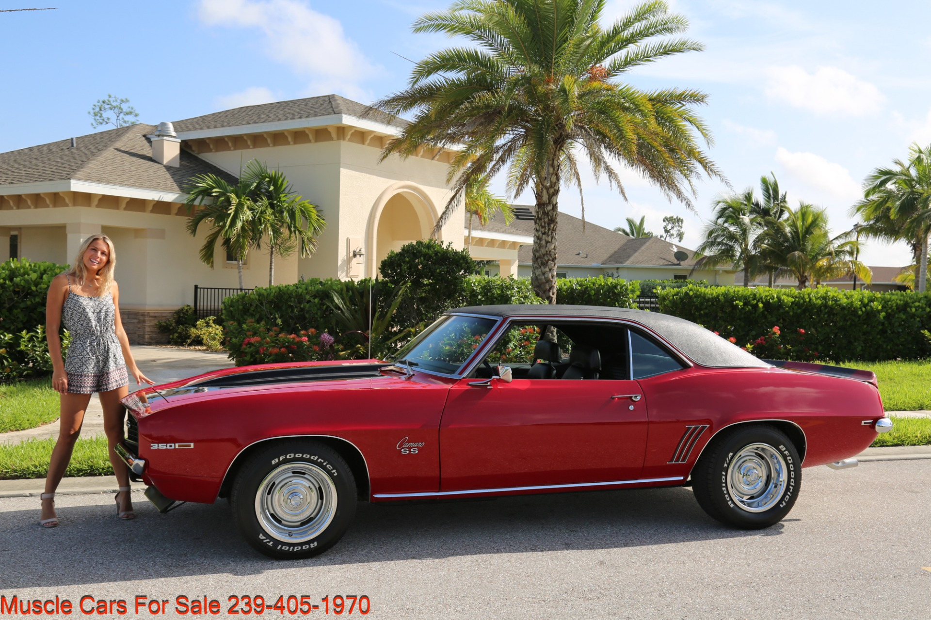 Used 1969 Chevrolet Camaro SS for sale Sold at Muscle Cars for Sale Inc. in Fort Myers FL 33912 7