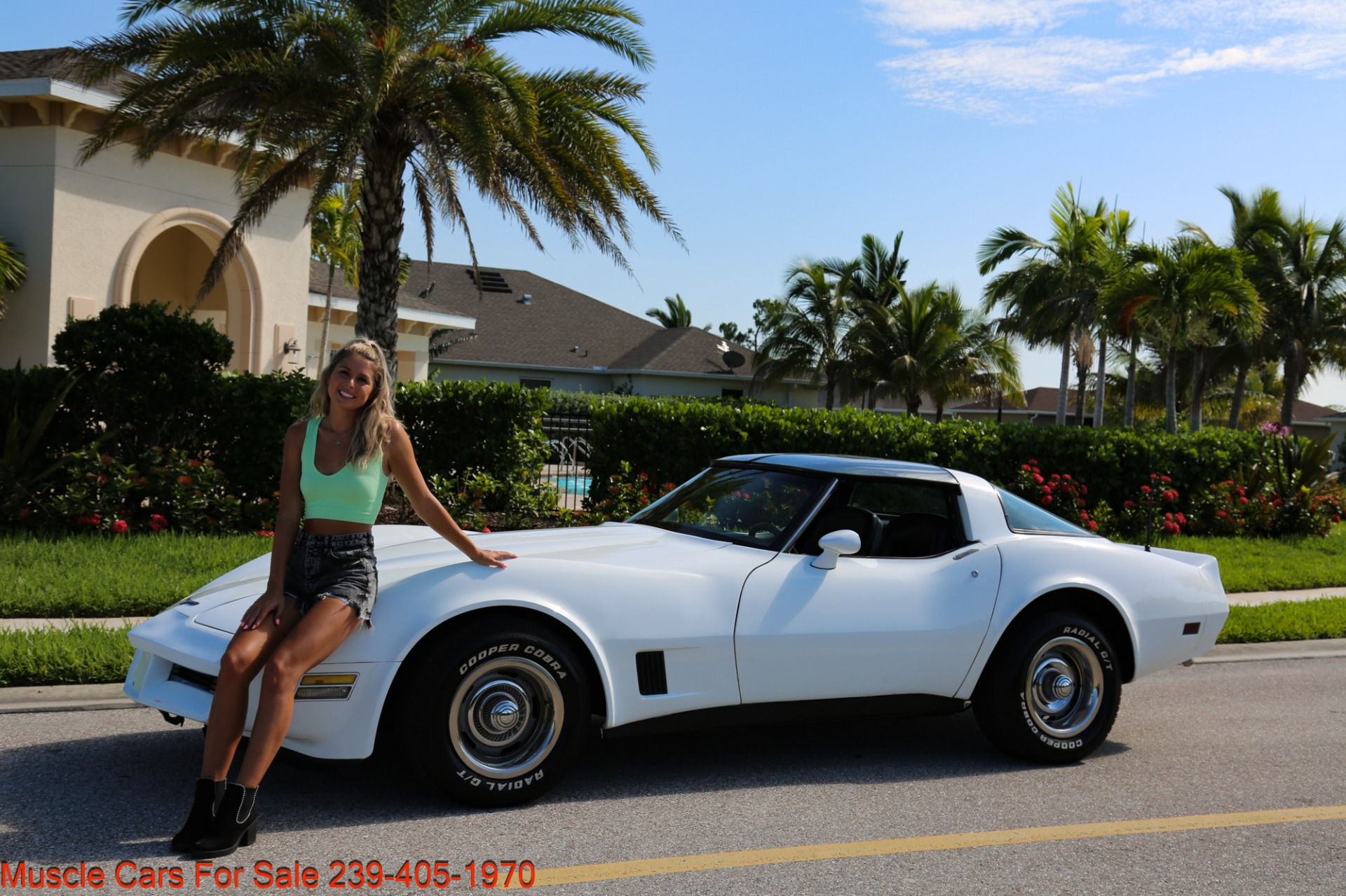 Used 1980 Chevrolet Corvette Coupe T Top for sale $17,500 at Muscle Cars for Sale Inc. in Fort Myers FL 33912 2