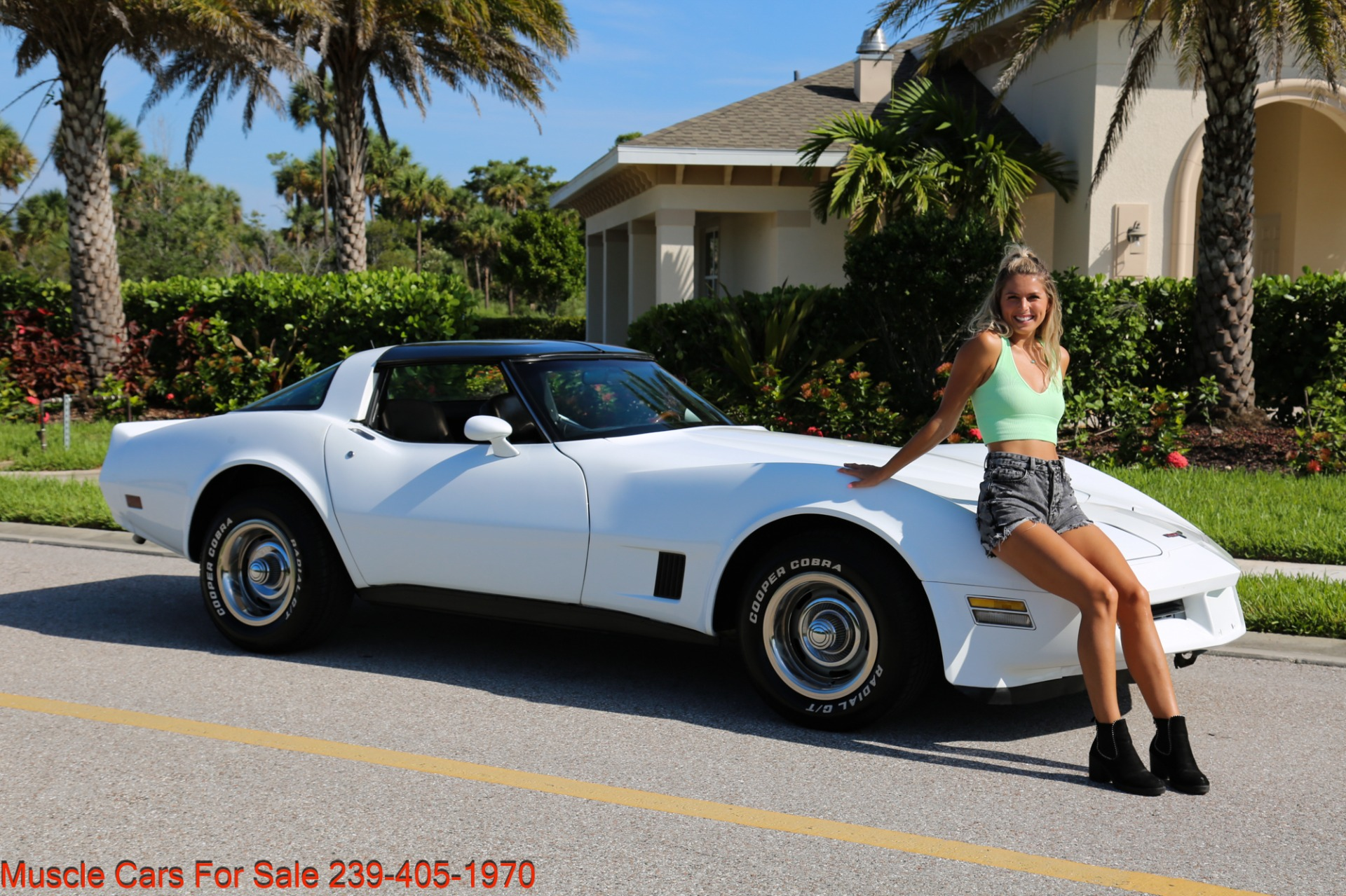 Used 1980 Chevrolet Corvette Coupe T Top for sale $17,500 at Muscle Cars for Sale Inc. in Fort Myers FL 33912 6