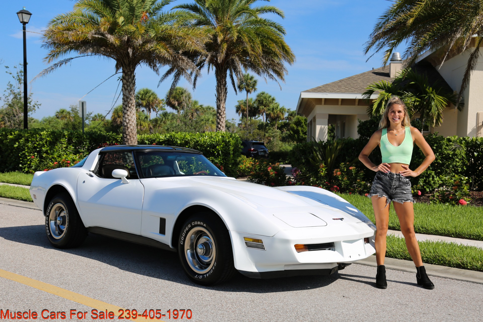 Used 1980 Chevrolet Corvette Coupe T Top for sale $17,500 at Muscle Cars for Sale Inc. in Fort Myers FL 33912 7