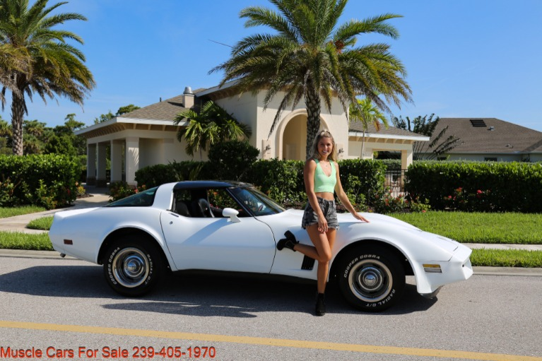 Used 1980 Chevrolet Corvette Coupe T Top for sale $17,500 at Muscle Cars for Sale Inc. in Fort Myers FL