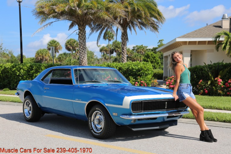 Used 1968 Chevrolet Camaro RS Rallysport 4 Speed Manual V8 for sale $39,900 at Muscle Cars for Sale Inc. in Fort Myers FL
