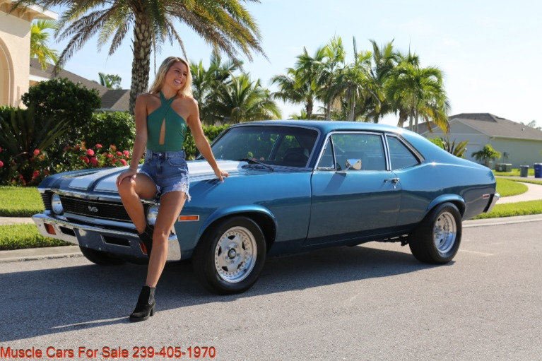 Used 1972 Chevrolet Nova ss for sale $33,500 at Muscle Cars for Sale Inc. in Fort Myers FL