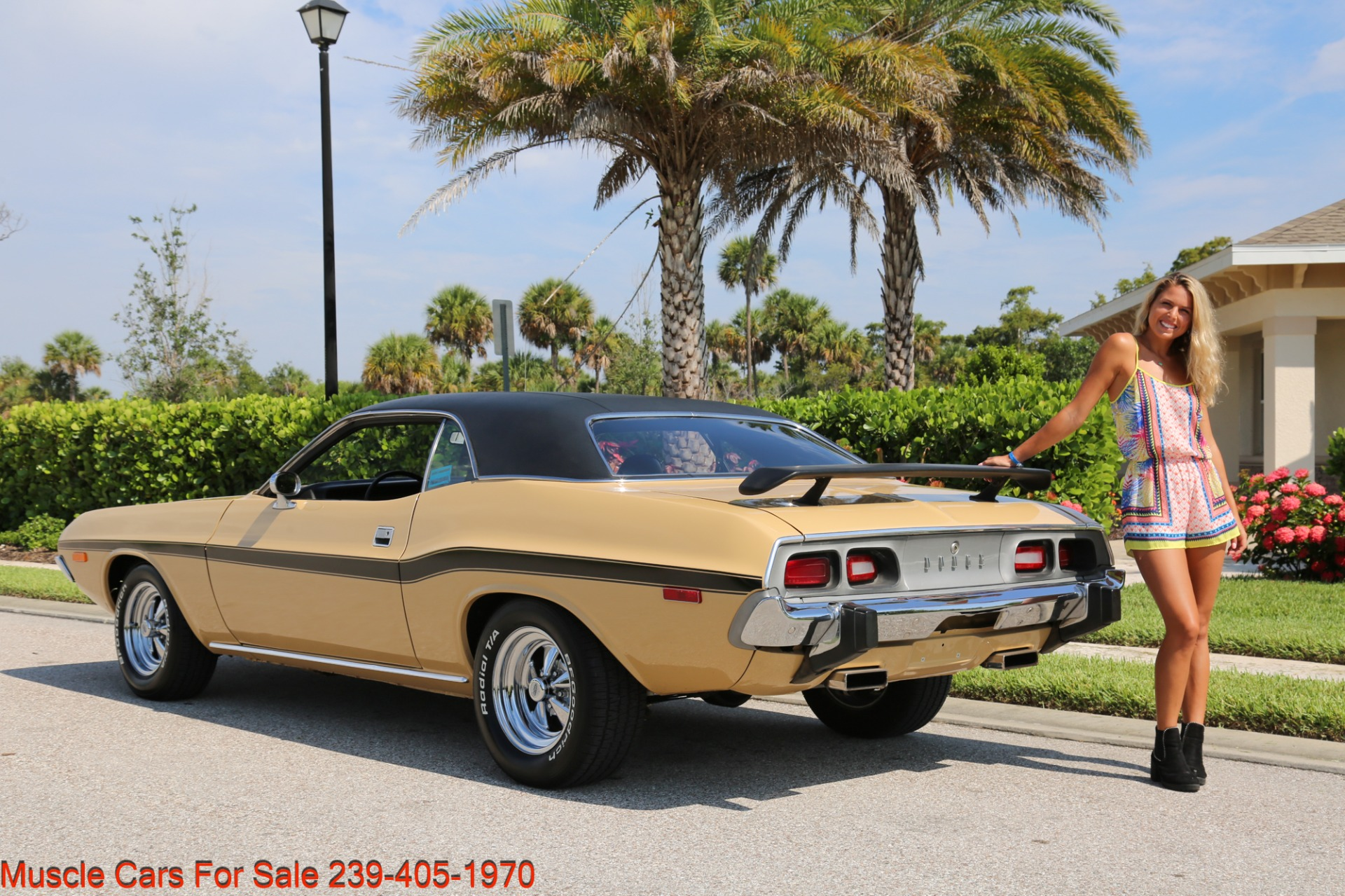 Used 1974 Dodge Challenger V8  Auto for sale $34,000 at Muscle Cars for Sale Inc. in Fort Myers FL 33912 3