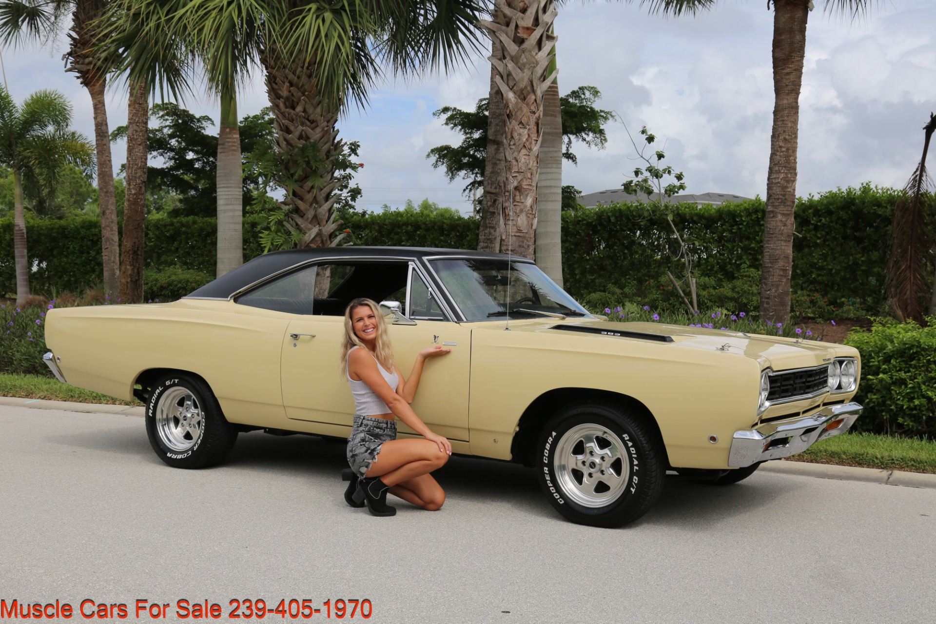 Used 1968 Plymouth Road Runner # Match Road Runner for sale $48,700 at Muscle Cars for Sale Inc. in Fort Myers FL 33912 2