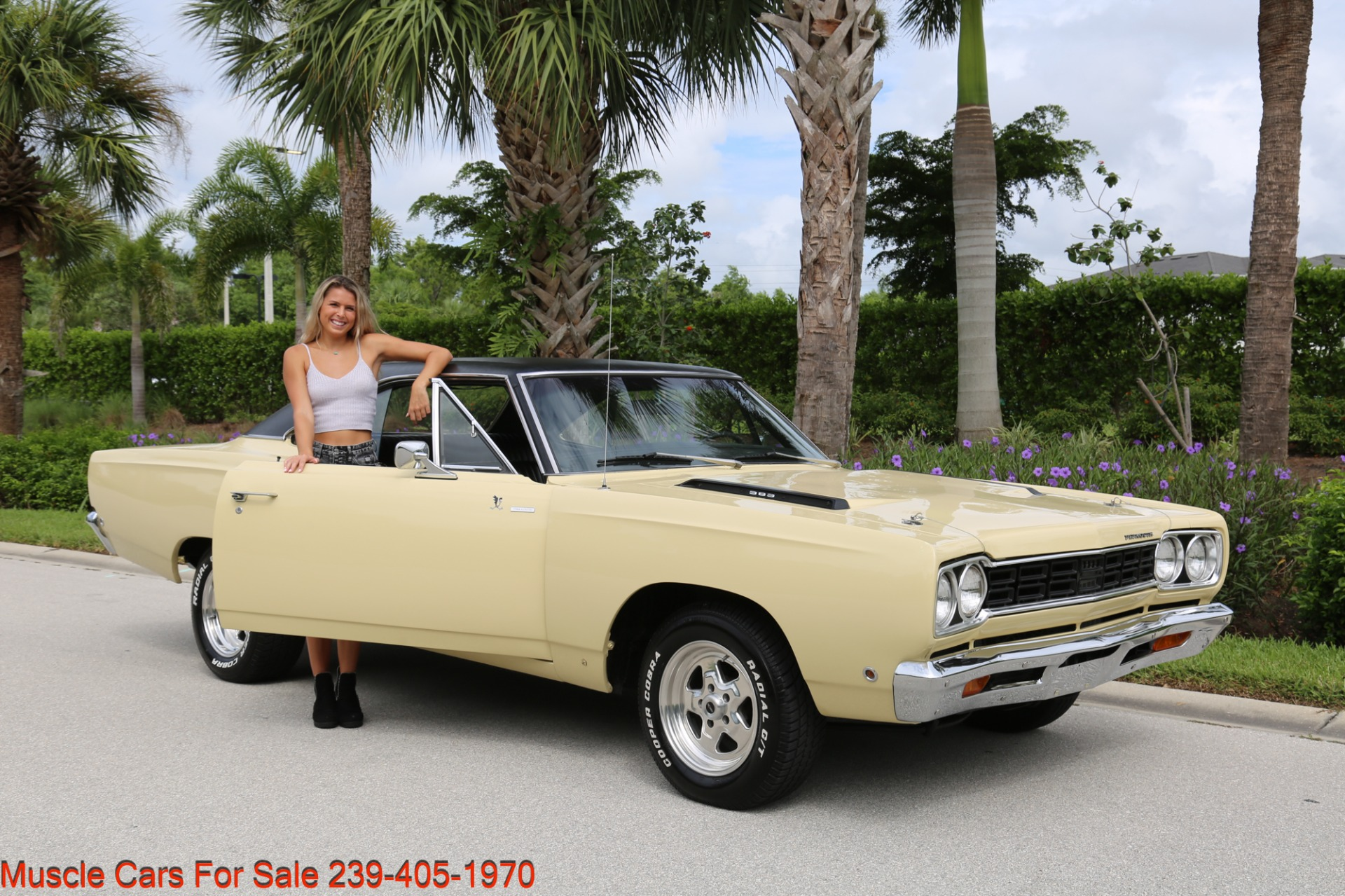 Used 1968 Plymouth Road Runner # Match Road Runner for sale $48,700 at Muscle Cars for Sale Inc. in Fort Myers FL 33912 3
