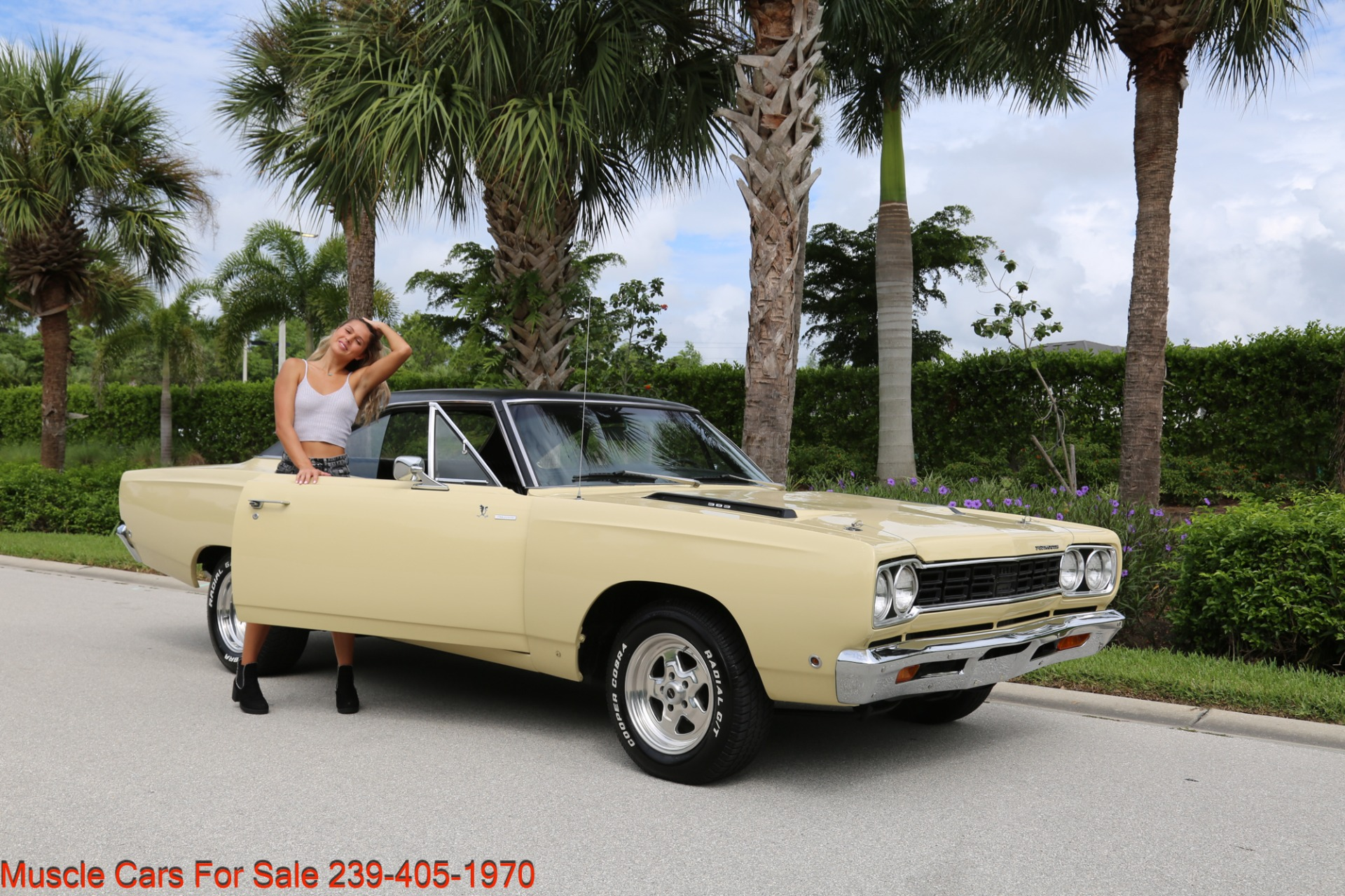 Used 1968 Plymouth Road Runner # Match Road Runner for sale $48,700 at Muscle Cars for Sale Inc. in Fort Myers FL 33912 4