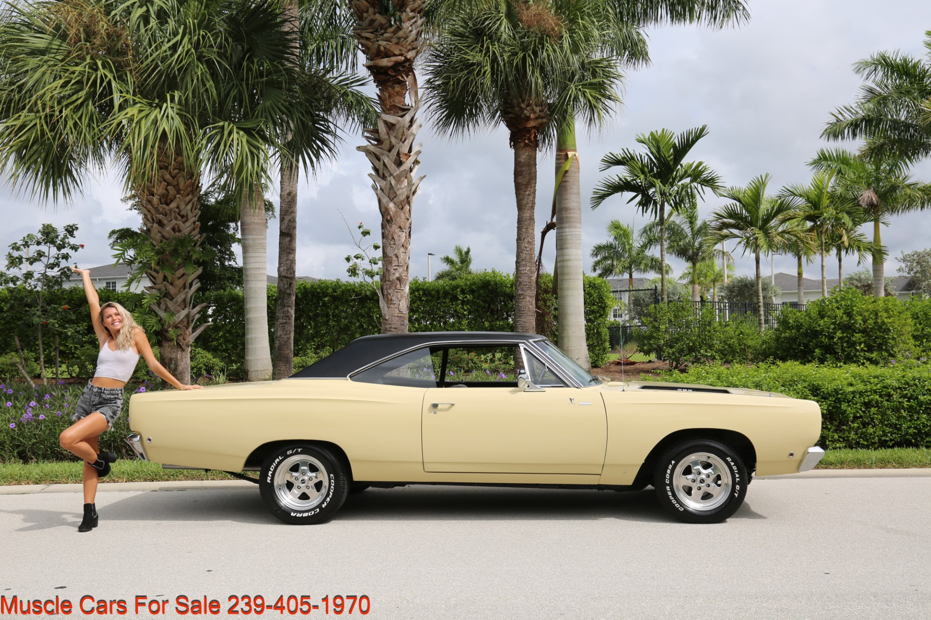 Used 1968 Plymouth Road Runner # Match Road Runner for sale $48,700 at Muscle Cars for Sale Inc. in Fort Myers FL 33912 5
