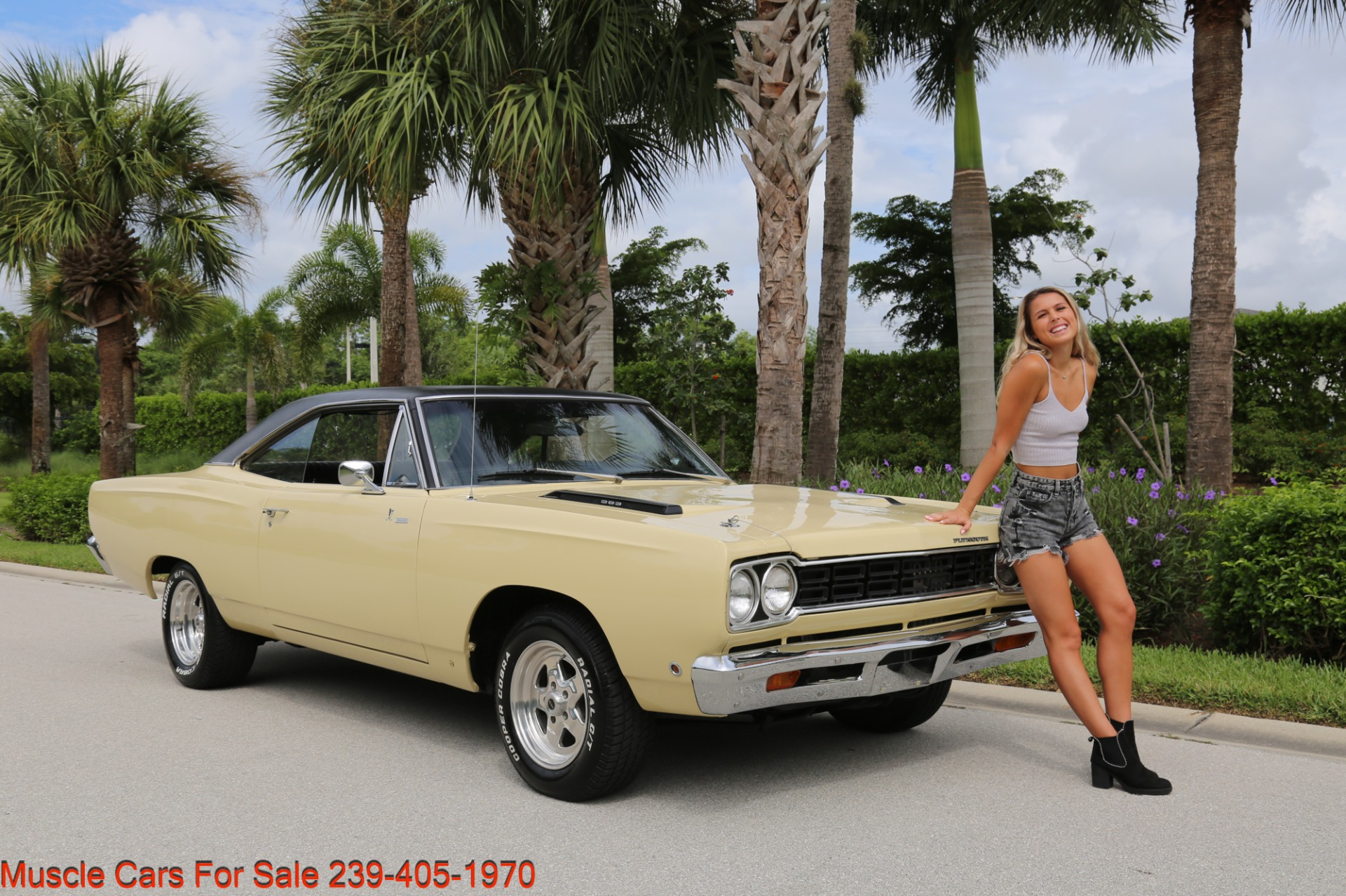 Used 1968 Plymouth Road Runner # Match Road Runner for sale $48,700 at Muscle Cars for Sale Inc. in Fort Myers FL 33912 1
