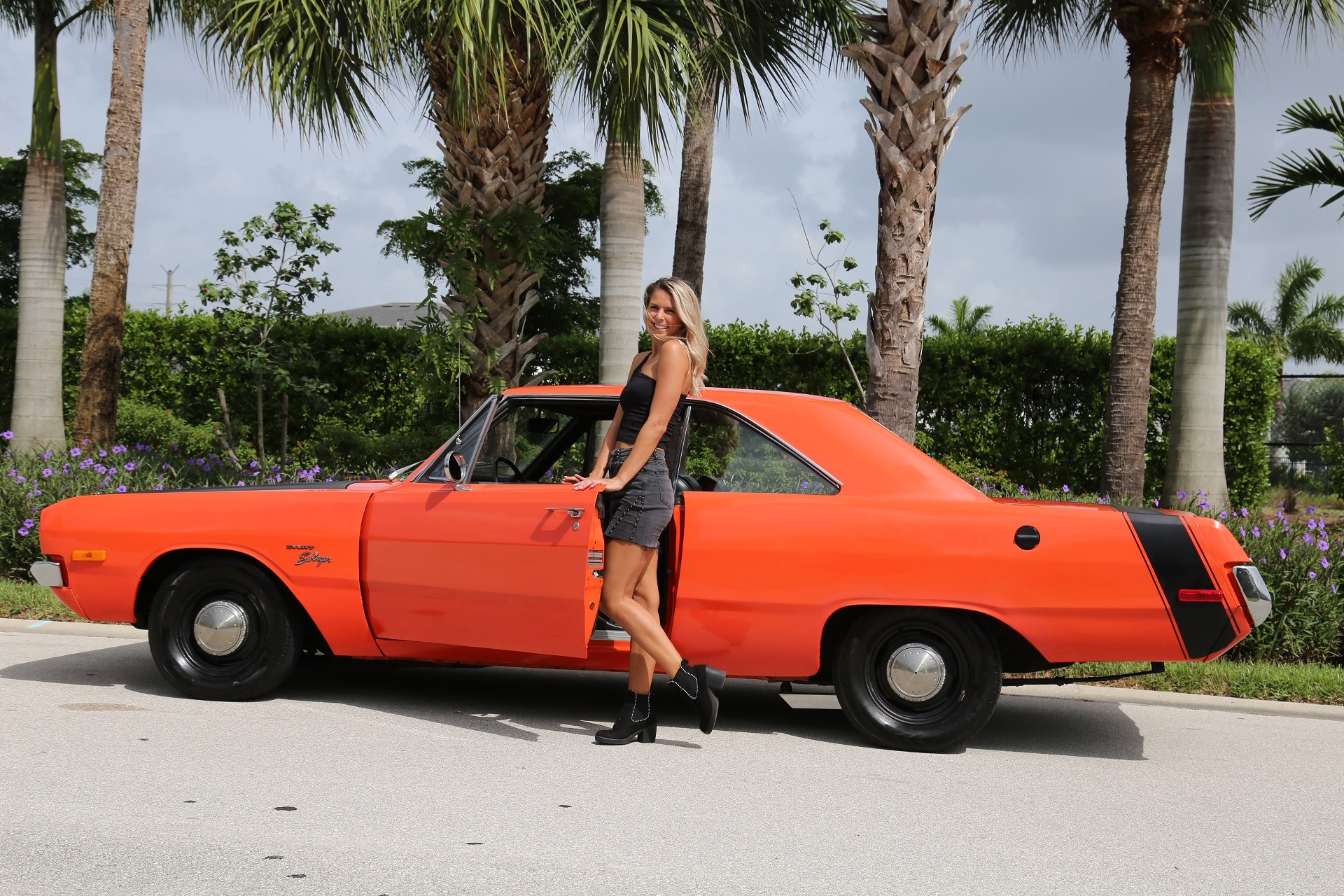 Used 1972 Dodge Dart Swinger for sale $19,900 at Muscle Cars for Sale Inc. in Fort Myers FL 33912 1