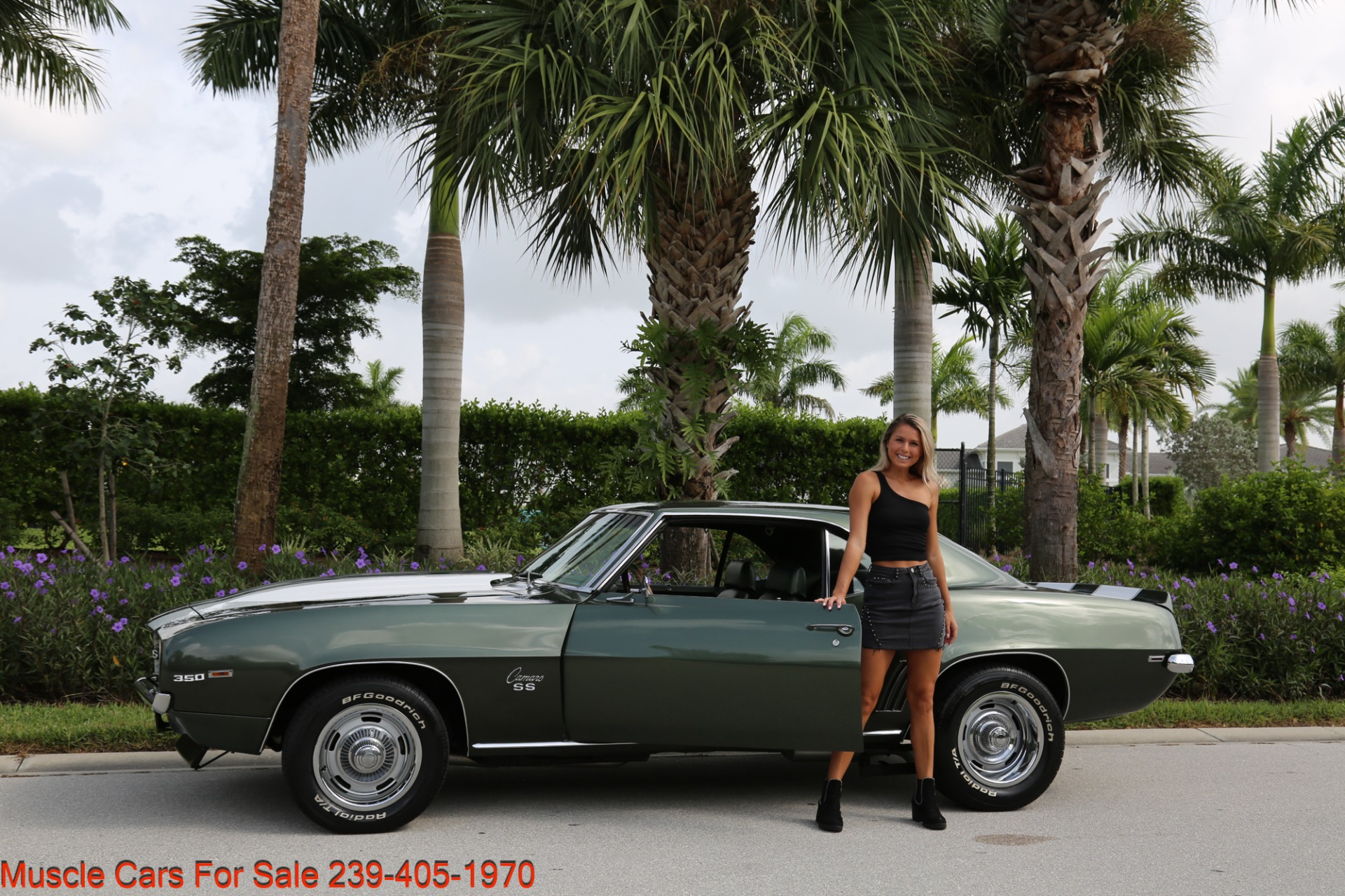 Used 1969 Chevrolet Camaro SS SS  X11 for sale Sold at Muscle Cars for Sale Inc. in Fort Myers FL 33912 2