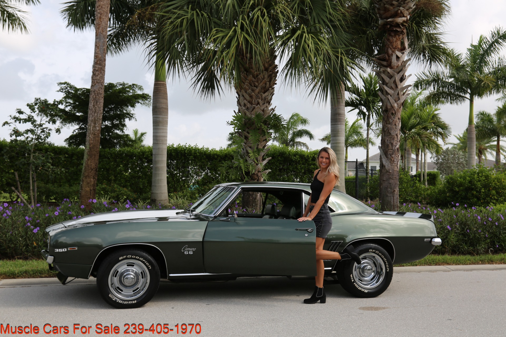 Used 1969 Chevrolet Camaro SS SS  X11 for sale Sold at Muscle Cars for Sale Inc. in Fort Myers FL 33912 3