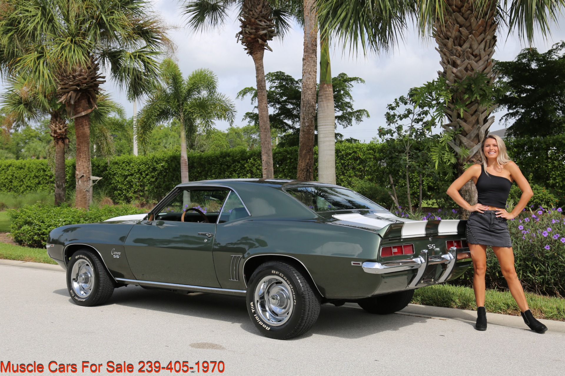 Used 1969 Chevrolet Camaro SS SS  X11 for sale Sold at Muscle Cars for Sale Inc. in Fort Myers FL 33912 4
