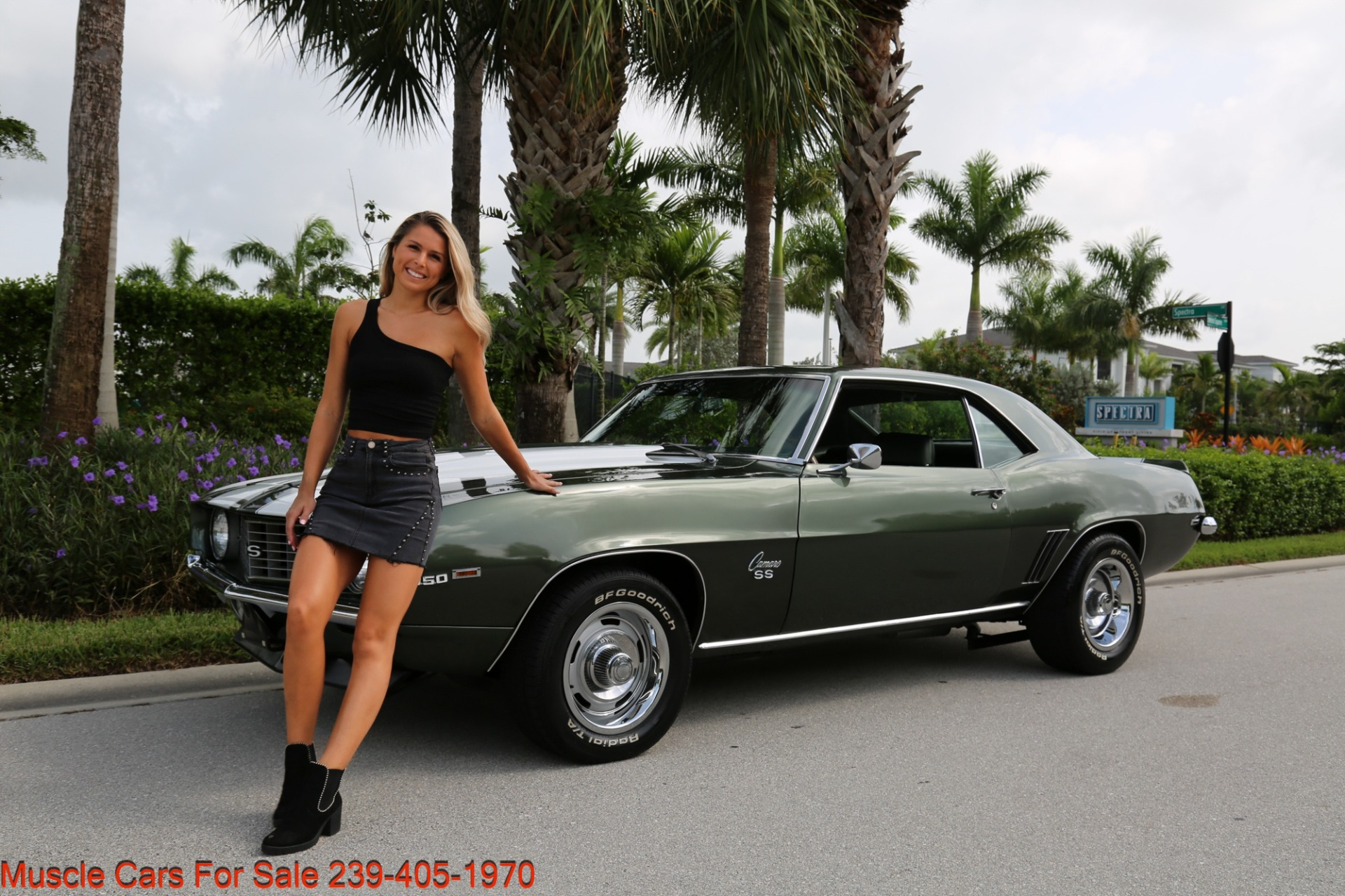 Used 1969 Chevrolet Camaro SS SS  X11 for sale Sold at Muscle Cars for Sale Inc. in Fort Myers FL 33912 1