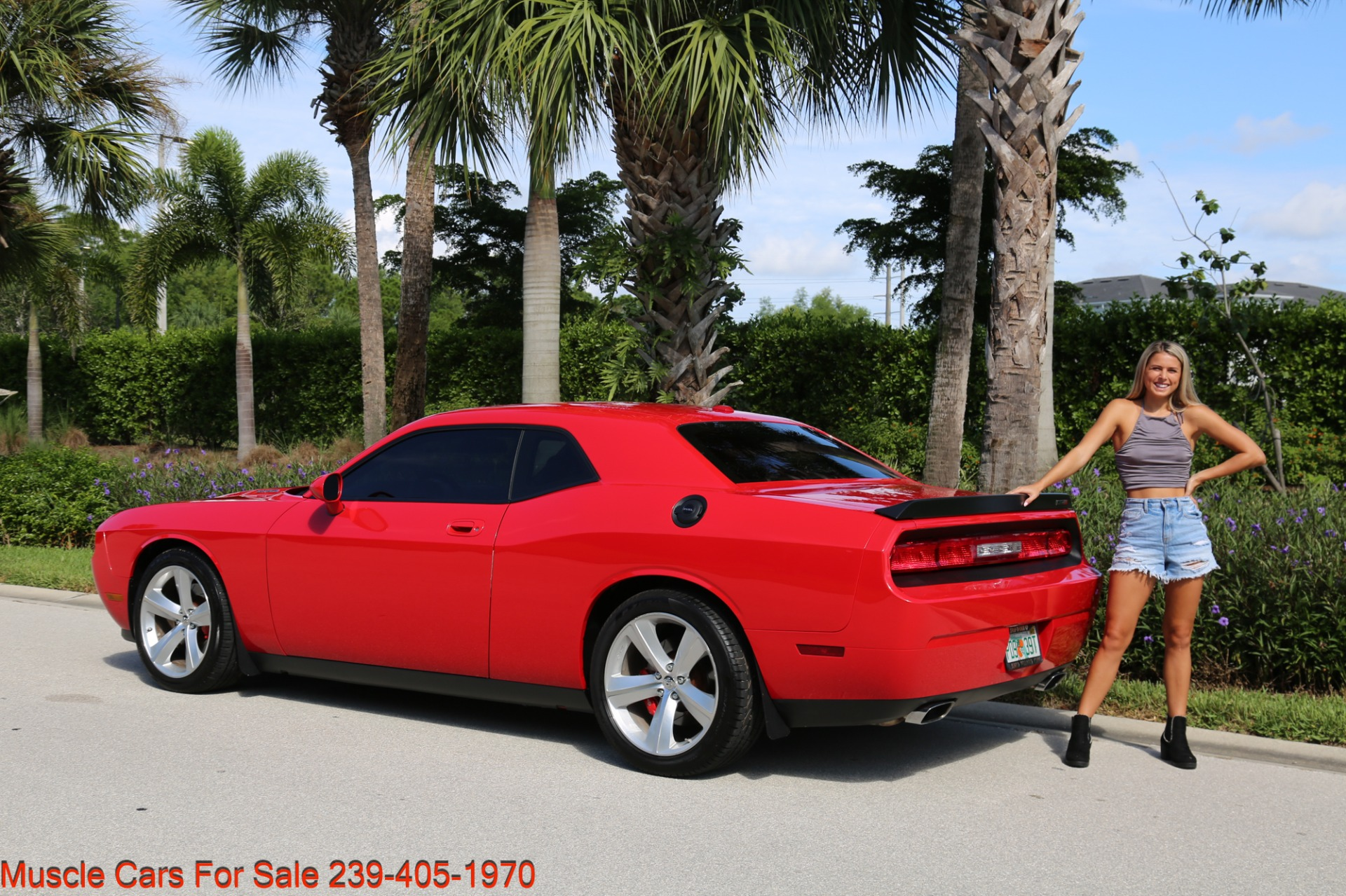 Used 2009 Dodge Challenger SRT8 SRT 8 for sale Sold at Muscle Cars for Sale Inc. in Fort Myers FL 33912 2