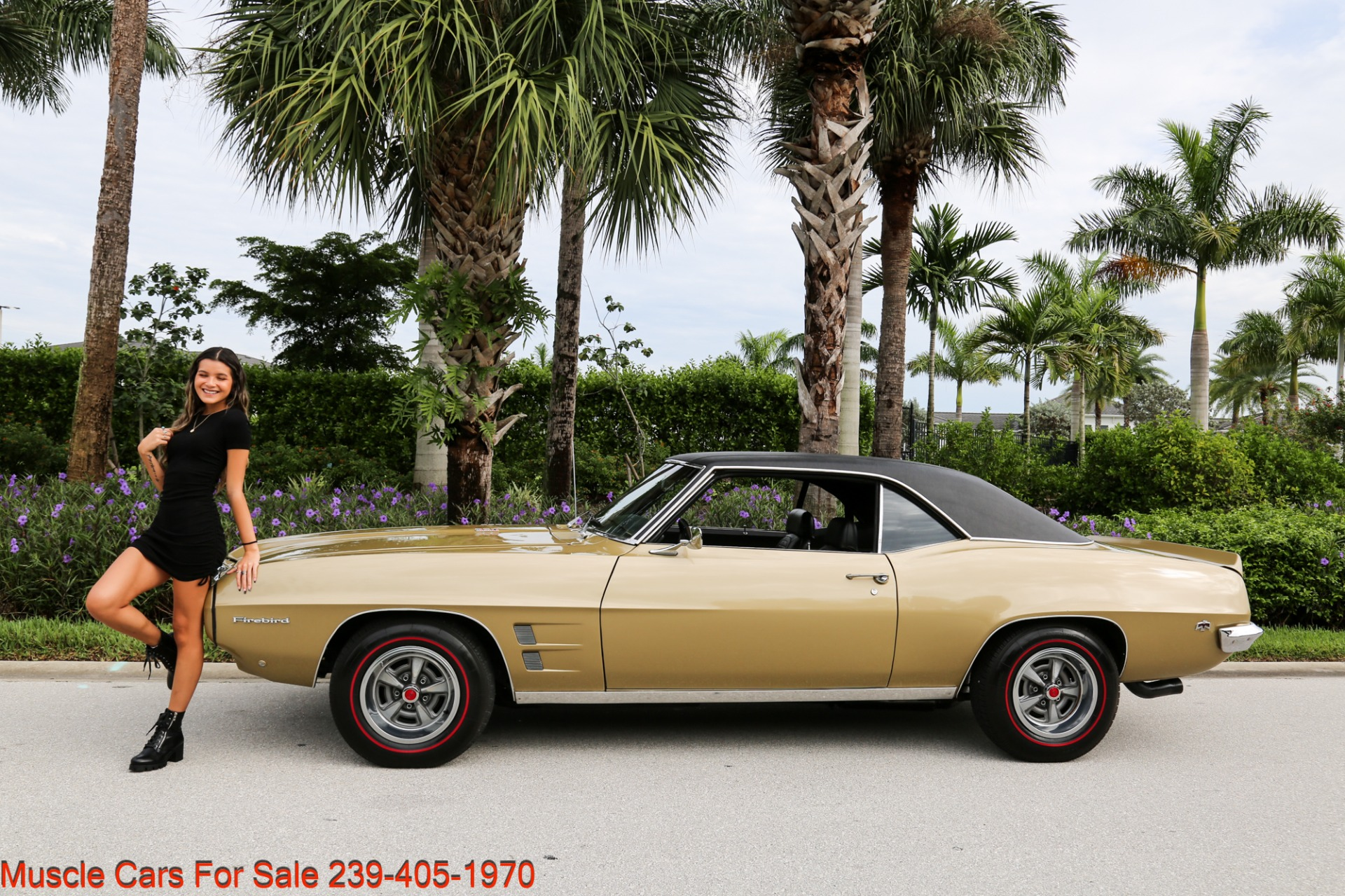 Used 1969 Pontiac Firebird V8 Auto for sale $27,900 at Muscle Cars for Sale Inc. in Fort Myers FL 33912 6