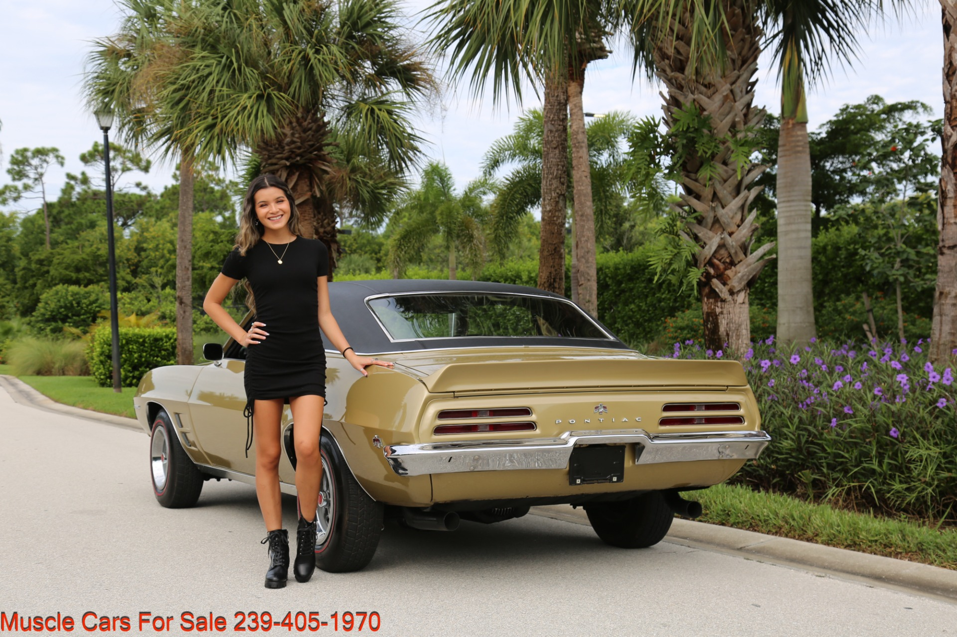 Used 1969 Pontiac Firebird V8 Auto for sale $27,900 at Muscle Cars for Sale Inc. in Fort Myers FL 33912 7