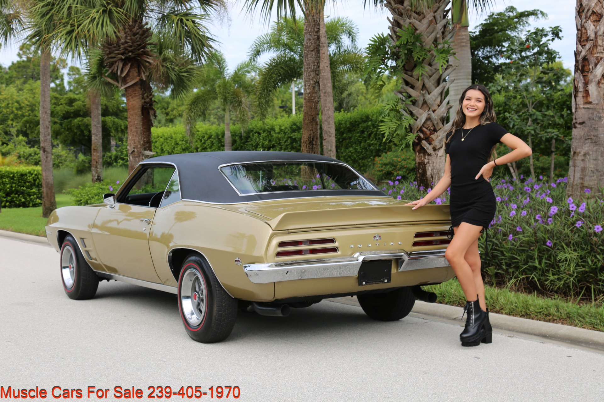 Used 1969 Pontiac Firebird V8 Auto for sale $27,900 at Muscle Cars for Sale Inc. in Fort Myers FL 33912 8