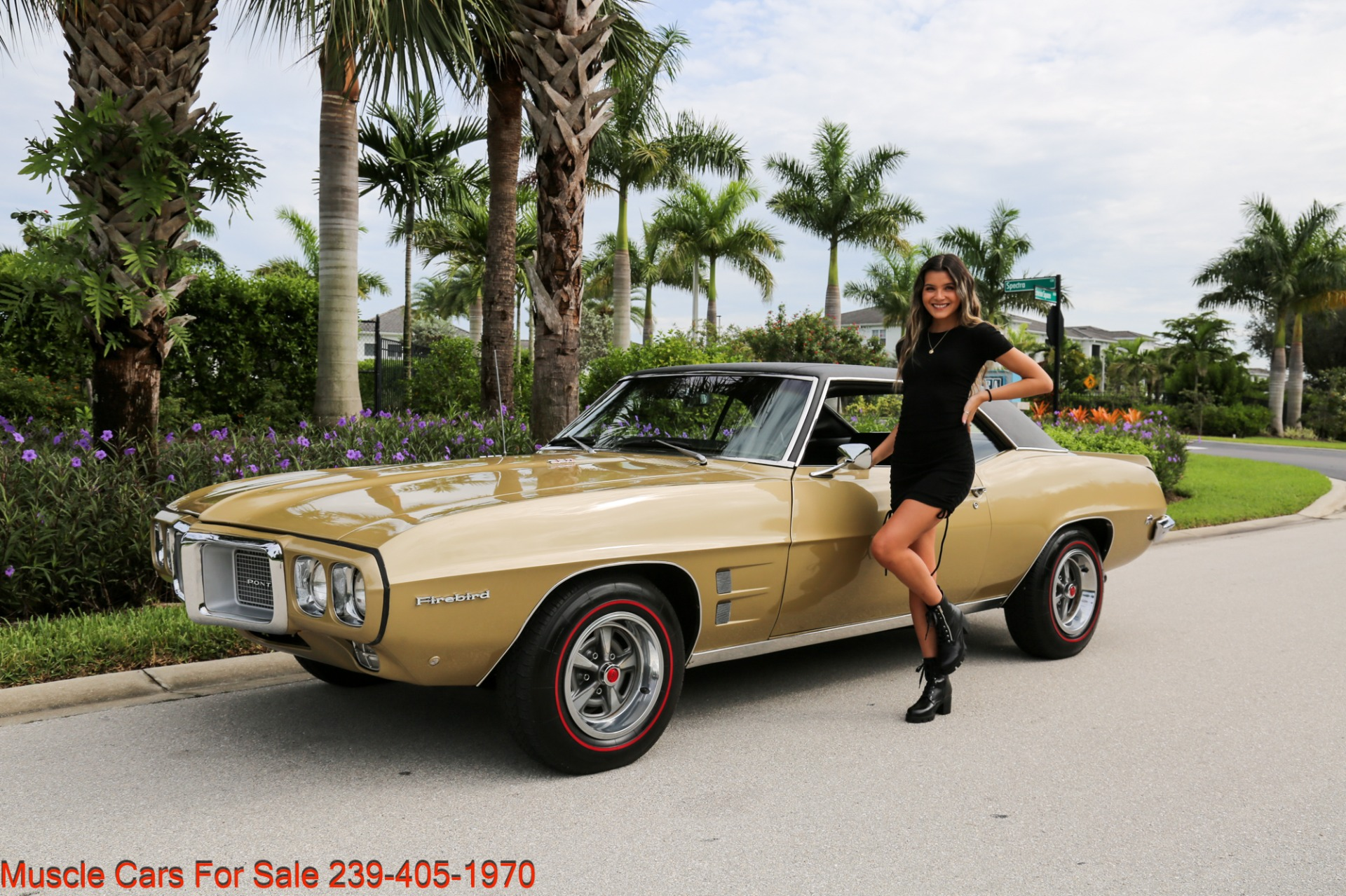 Used 1969 Pontiac Firebird V8 Auto for sale $27,900 at Muscle Cars for Sale Inc. in Fort Myers FL 33912 1