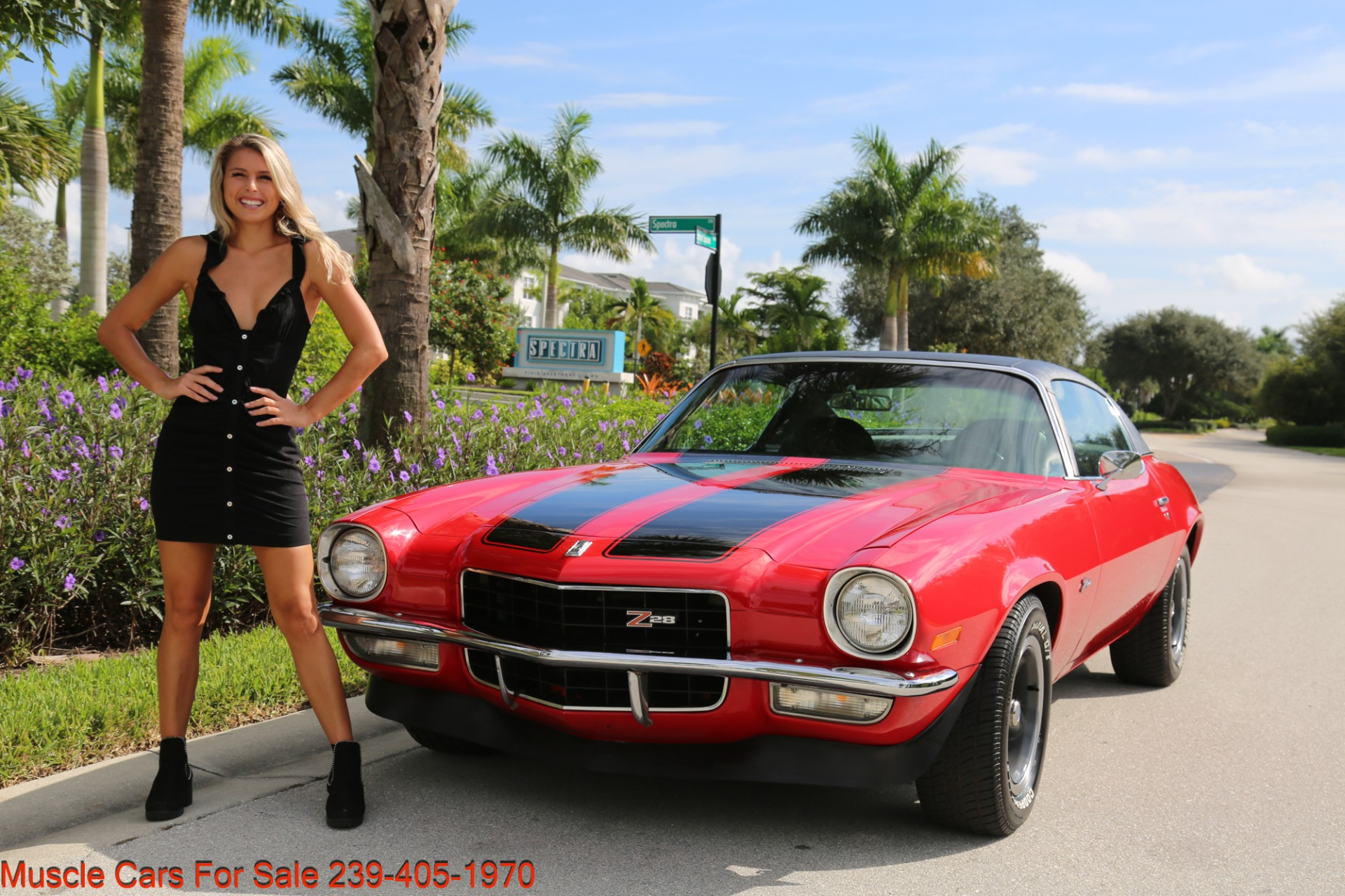 Used 1972 Chevrolet Camaro Z28 for sale $34,000 at Muscle Cars for Sale Inc. in Fort Myers FL 33912 8