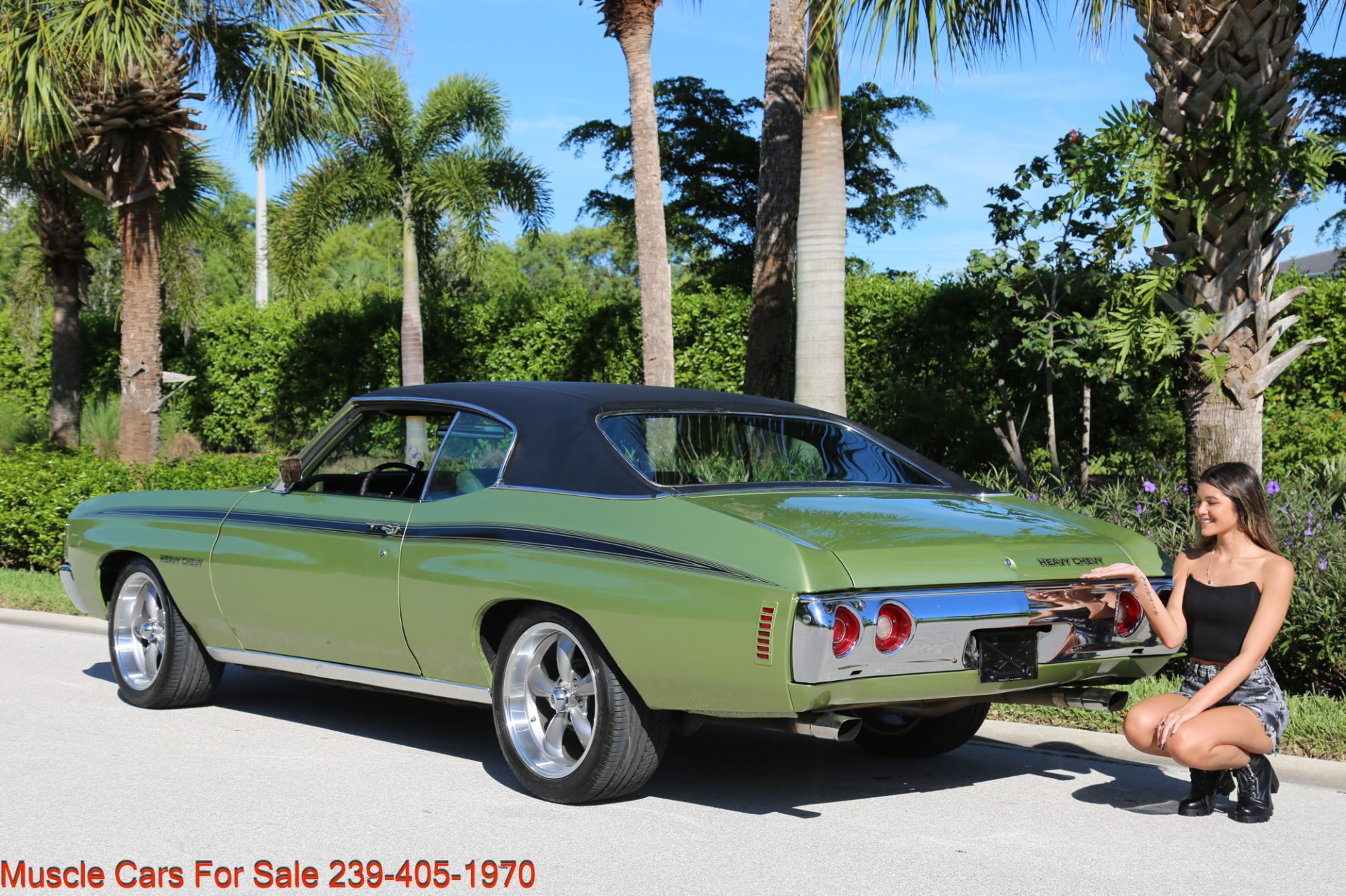 Used 1972 Chevrolet Chevelle Heavy Chevy Trim for sale $34,000 at Muscle Cars for Sale Inc. in Fort Myers FL 33912 3