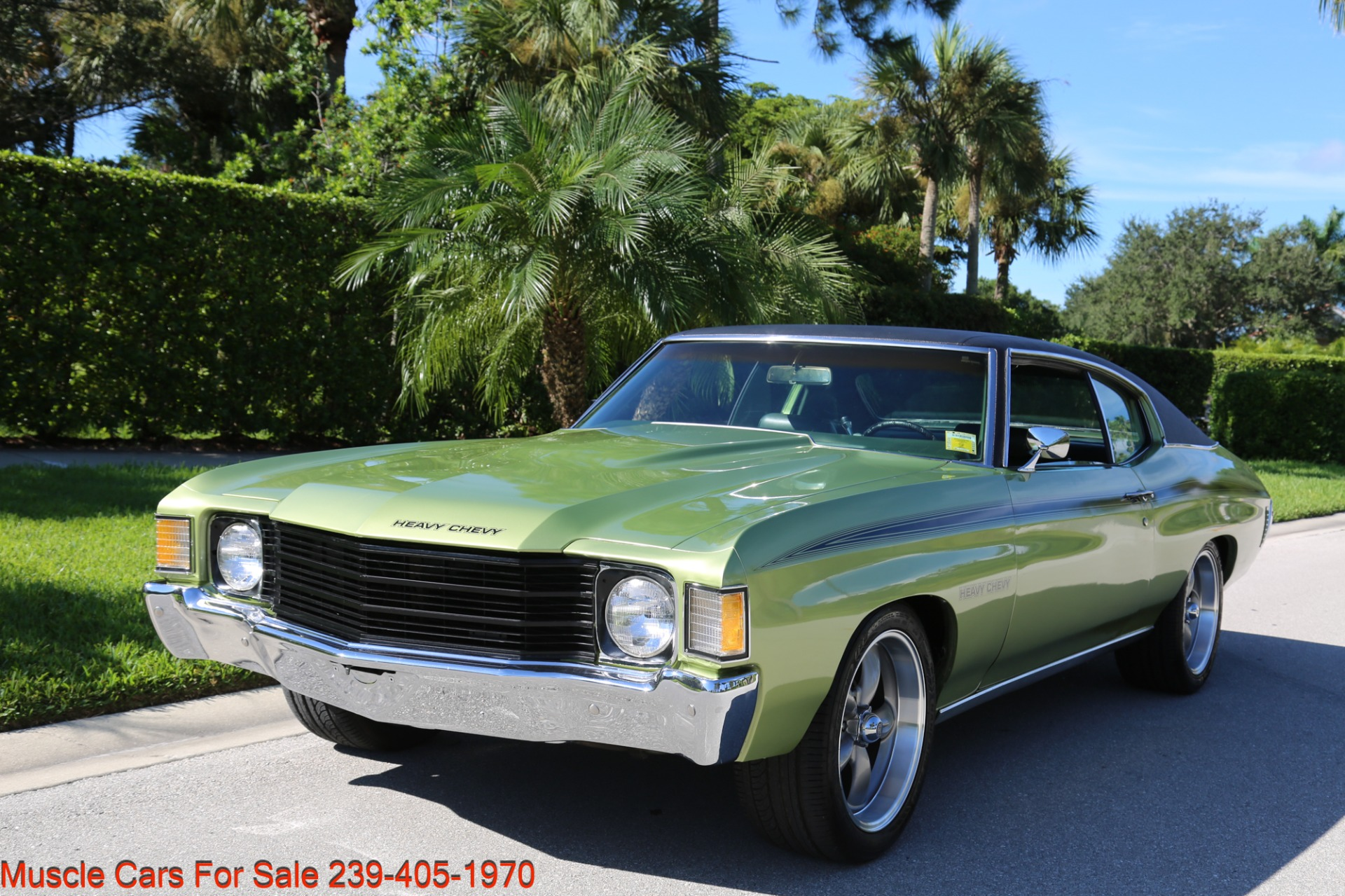 Used 1972 Chevrolet Chevelle Heavy Chevy Trim for sale $34,000 at Muscle Cars for Sale Inc. in Fort Myers FL 33912 7