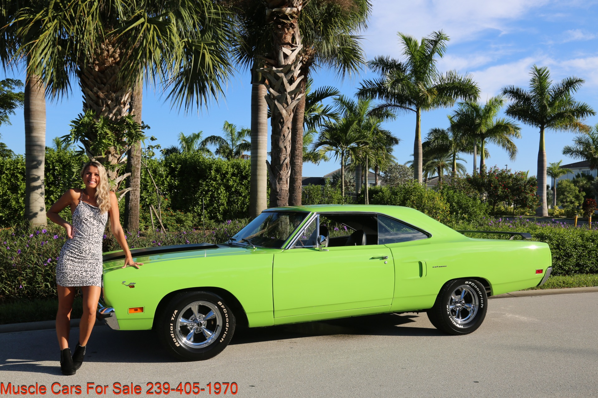 Used 1970 Plymouth Road Runner Road Runner 440 4 Speed for sale Sold at Muscle Cars for Sale Inc. in Fort Myers FL 33912 4