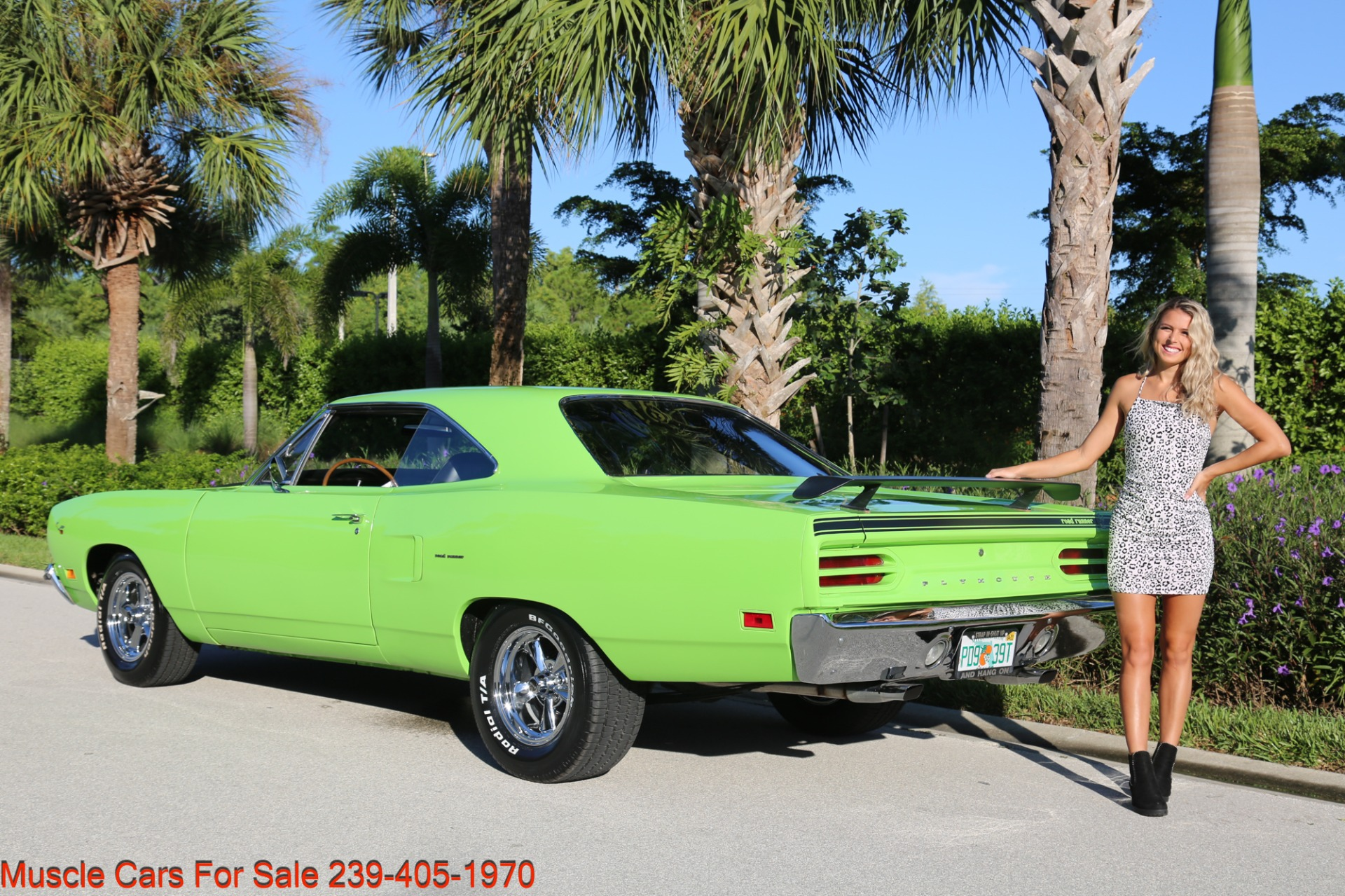 Used 1970 Plymouth Road Runner Road Runner 440 4 Speed for sale Sold at Muscle Cars for Sale Inc. in Fort Myers FL 33912 8