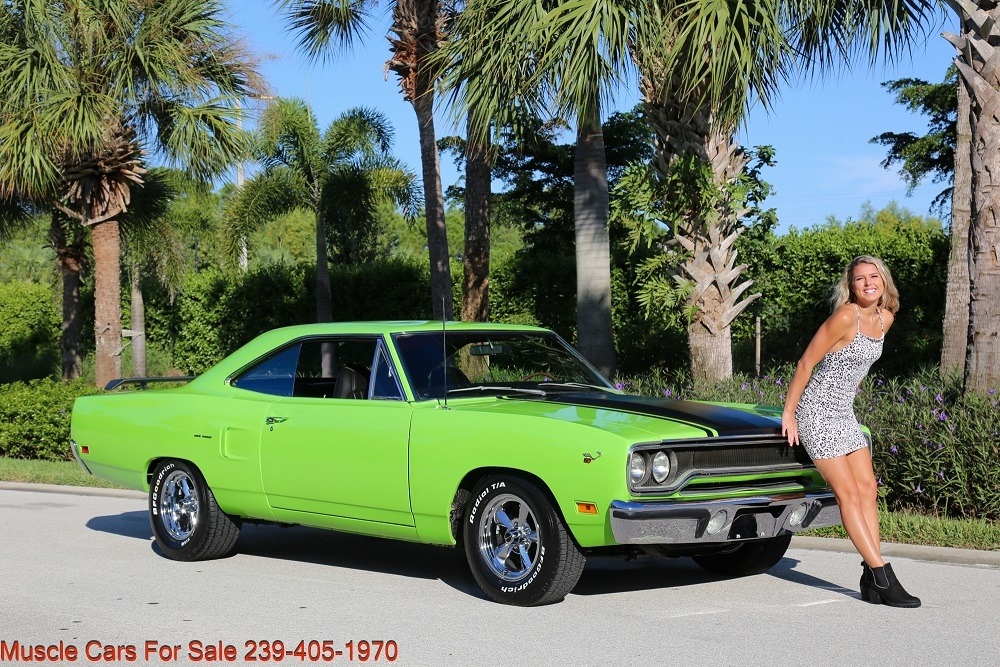 Used 1970 Plymouth Road Runner Road Runner 440 4 Speed for sale Sold at Muscle Cars for Sale Inc. in Fort Myers FL 33912 1