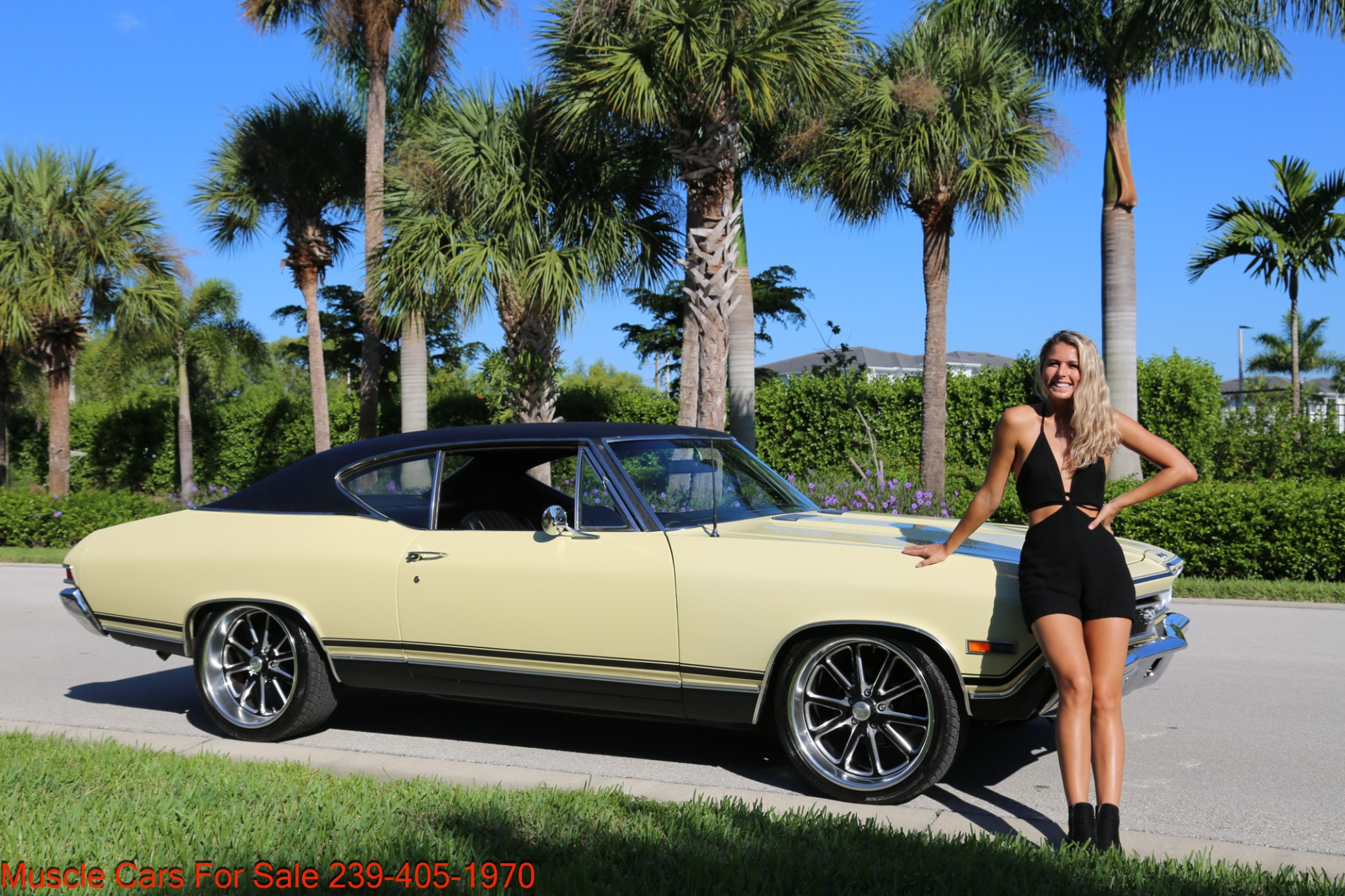 Used 1968 Chevrolet Chevelle SS 2 door for sale Sold at Muscle Cars for Sale Inc. in Fort Myers FL 33912 2