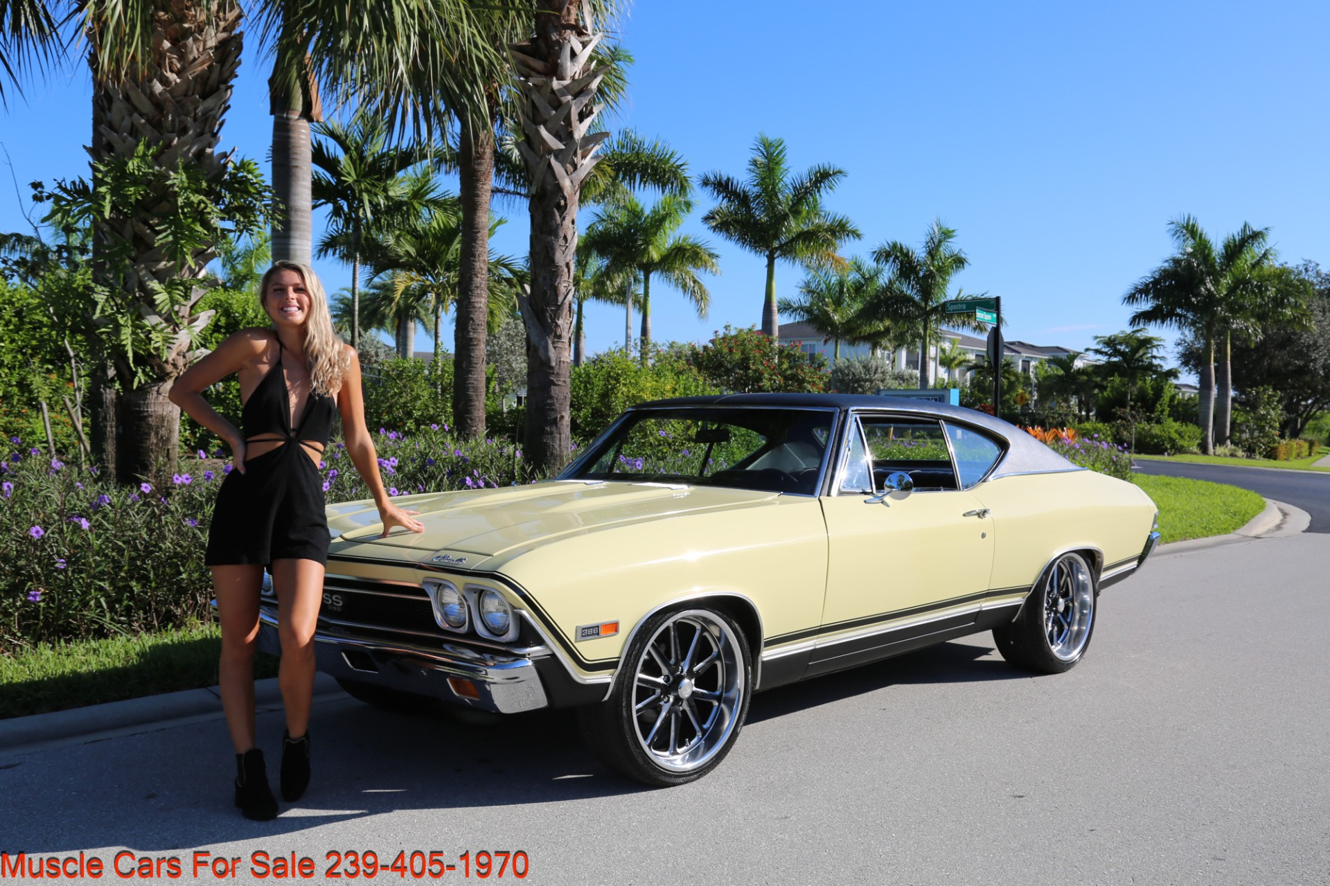 Used 1968 Chevrolet Chevelle SS 2 door for sale Sold at Muscle Cars for Sale Inc. in Fort Myers FL 33912 3